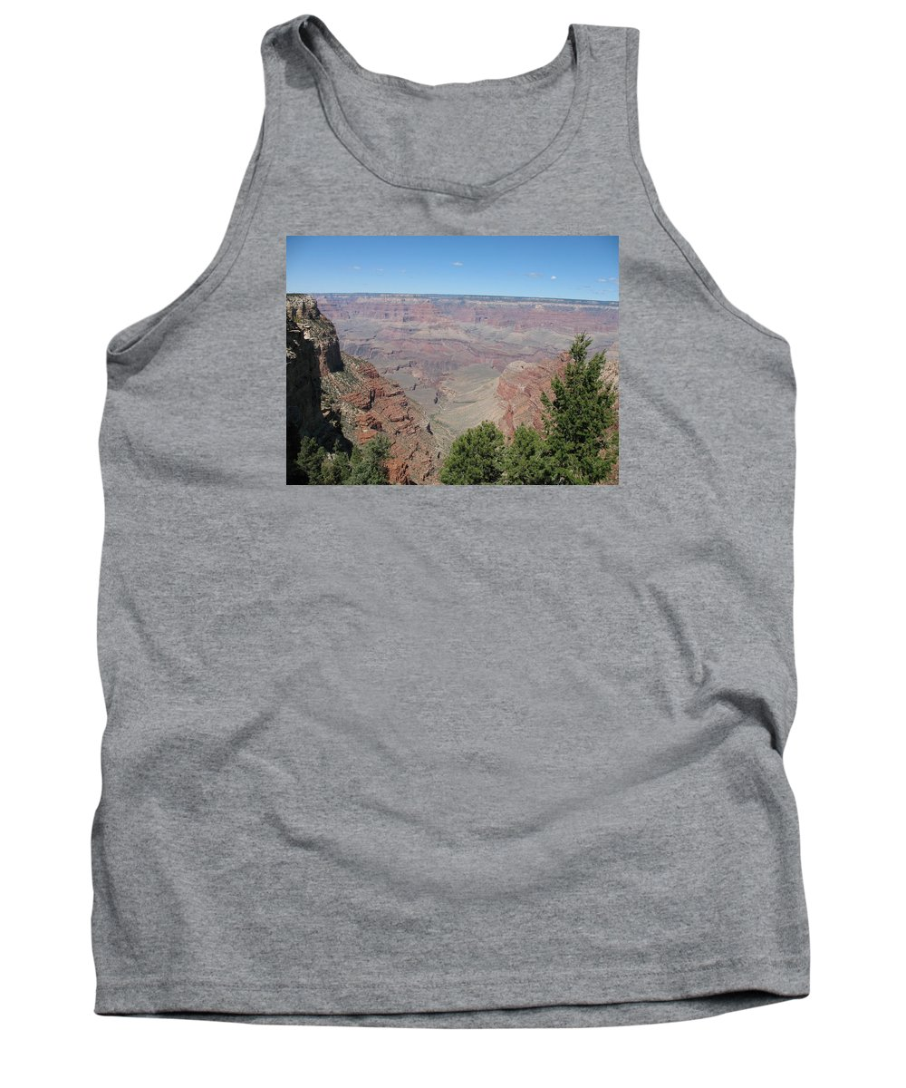 Canyon Tank Top featuring the photograph Scenic View - Grand Canyon by Christiane Schulze Art And Photography