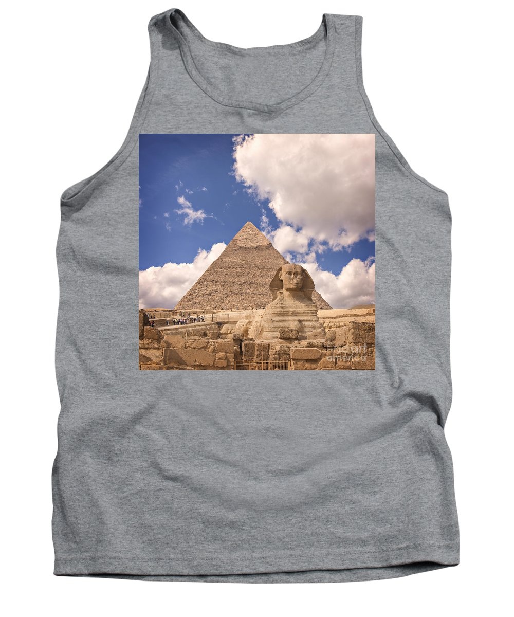 Unesco Tank Top featuring the photograph Sphinx by Sophie McAulay