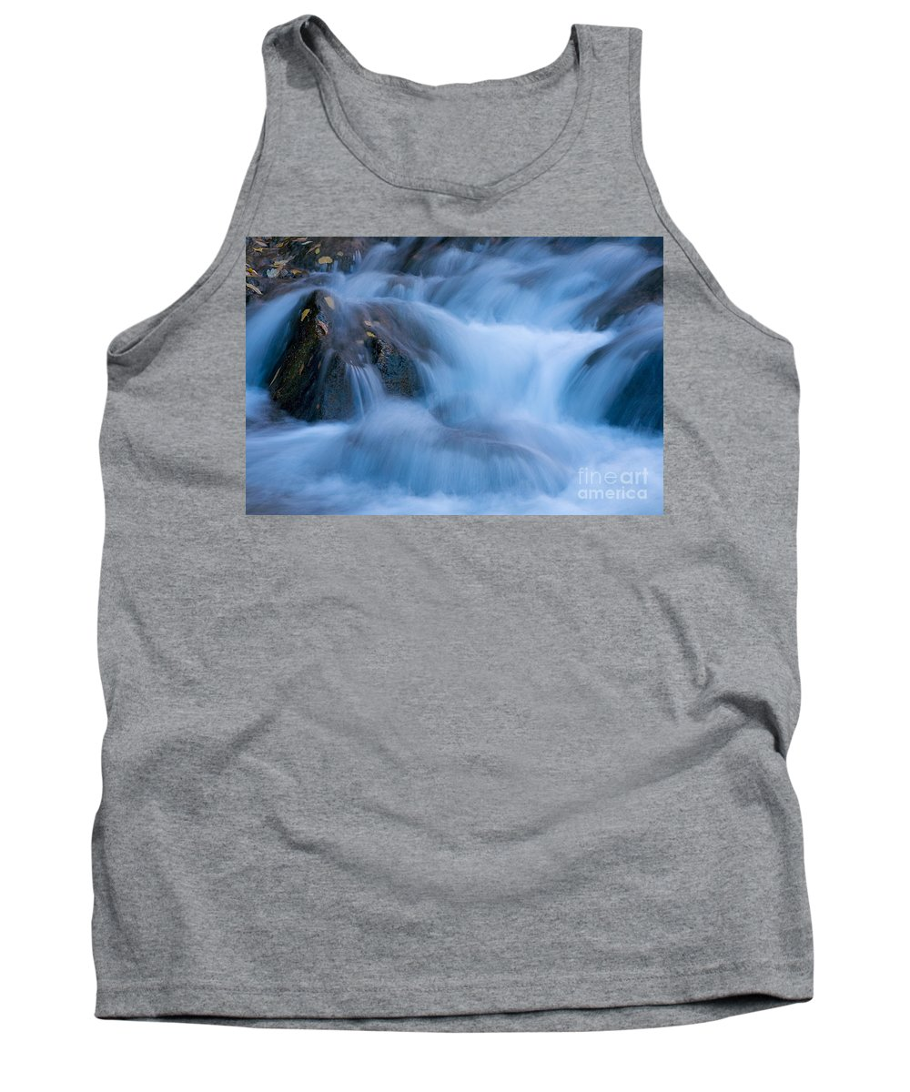Afternoon Tank Top featuring the photograph Virgin River Rapids by Fred Stearns