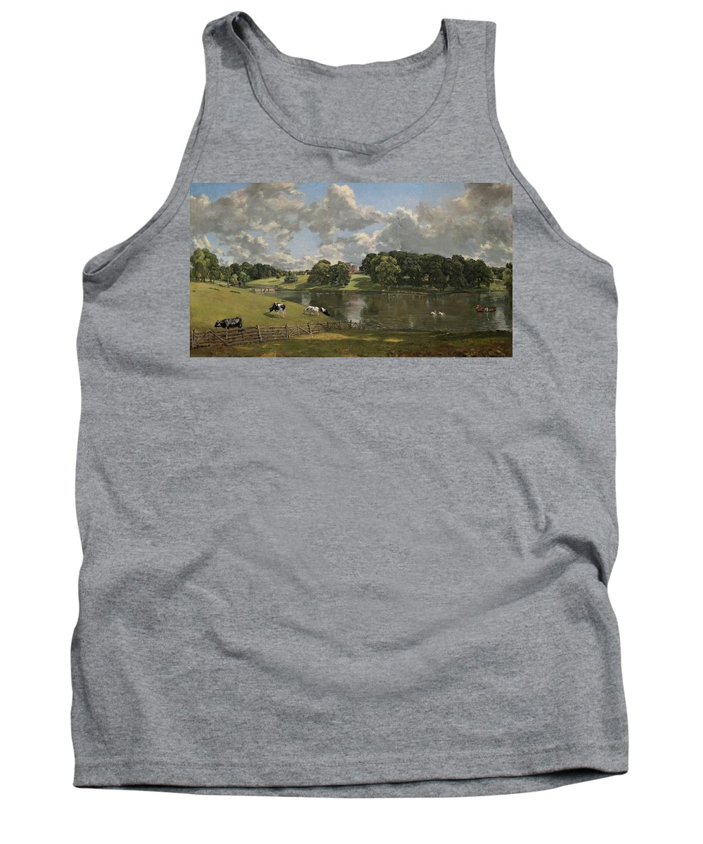 John Constable Tank Top featuring the painting Wivenhoe Park Essex by John Constable
