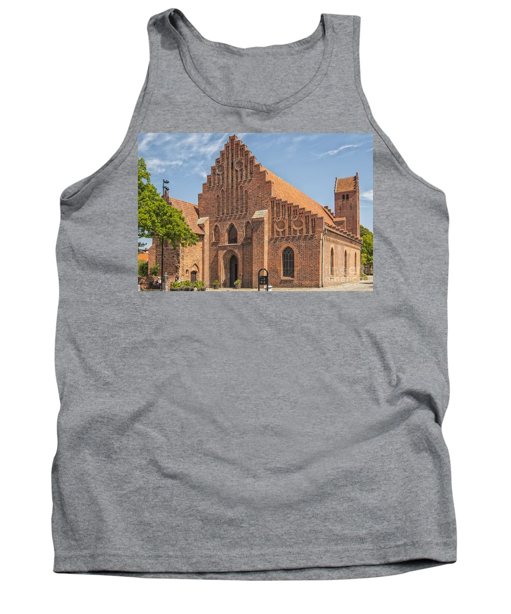 Monastery Tank Top featuring the photograph Ystad Monastery by Antony McAulay