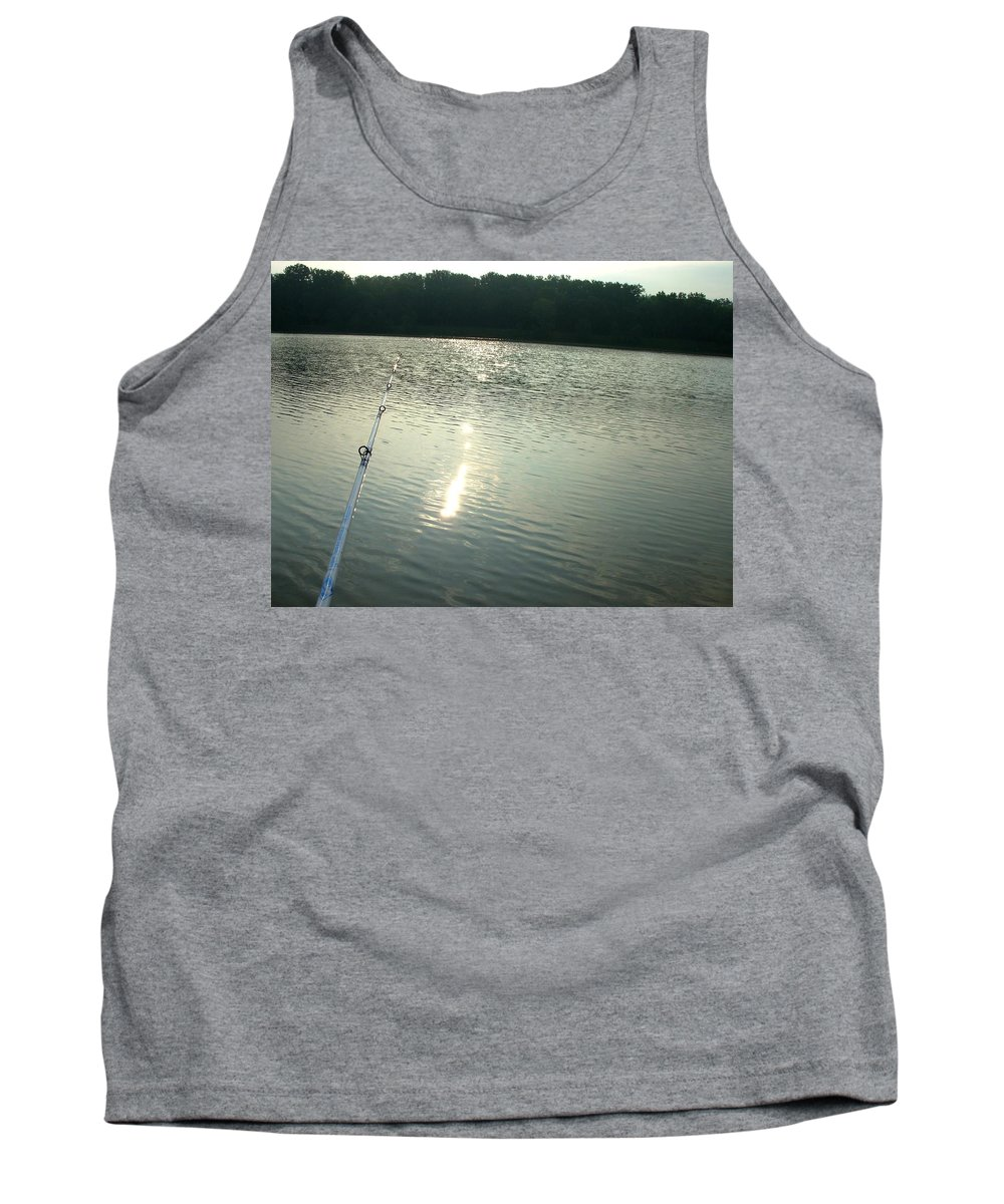 Lake Tank Top featuring the photograph 1258c by Kimberlie Gerner