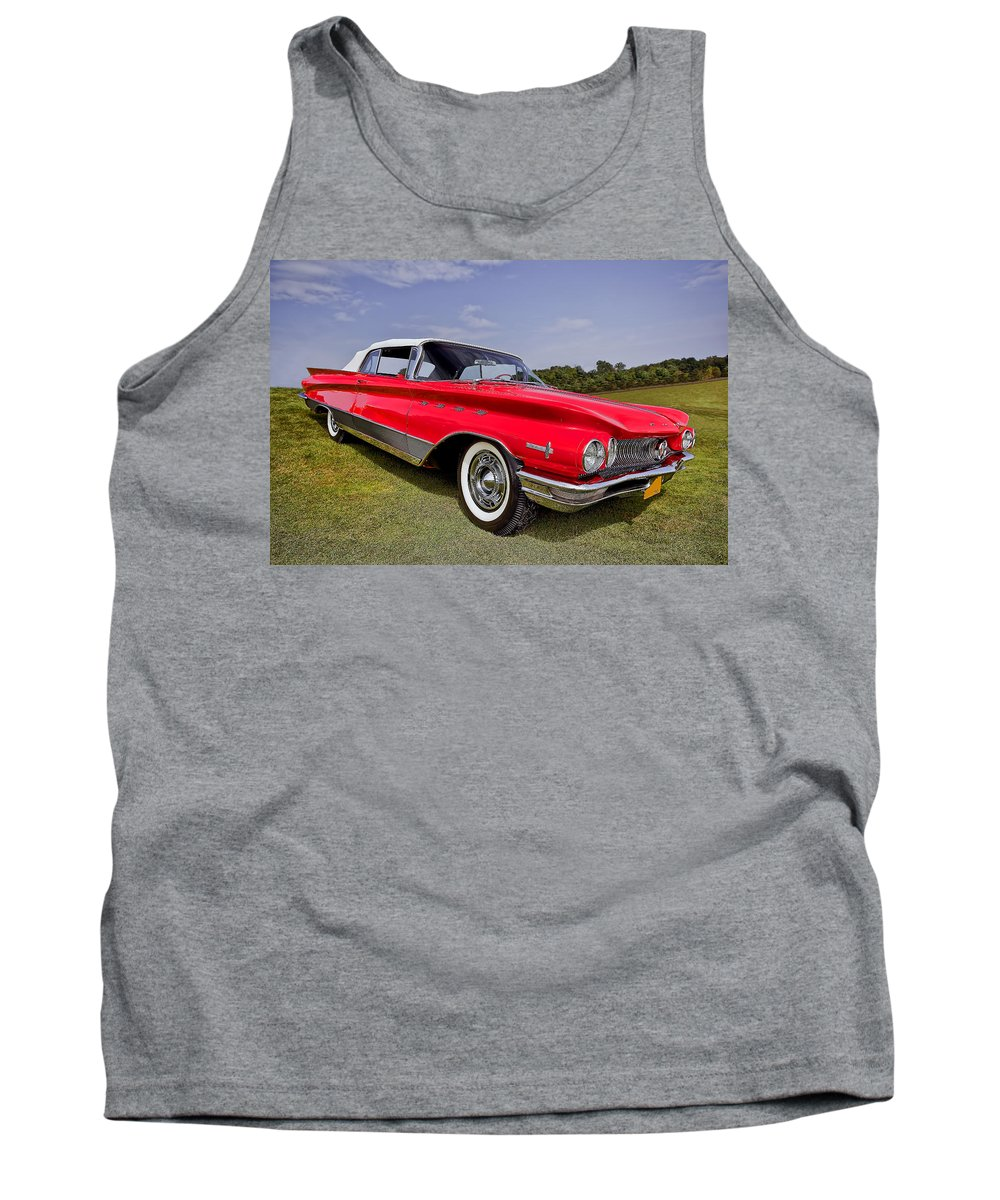 Transportation Tank Top featuring the photograph 1960 Buick Electra 225 by Marcia Colelli