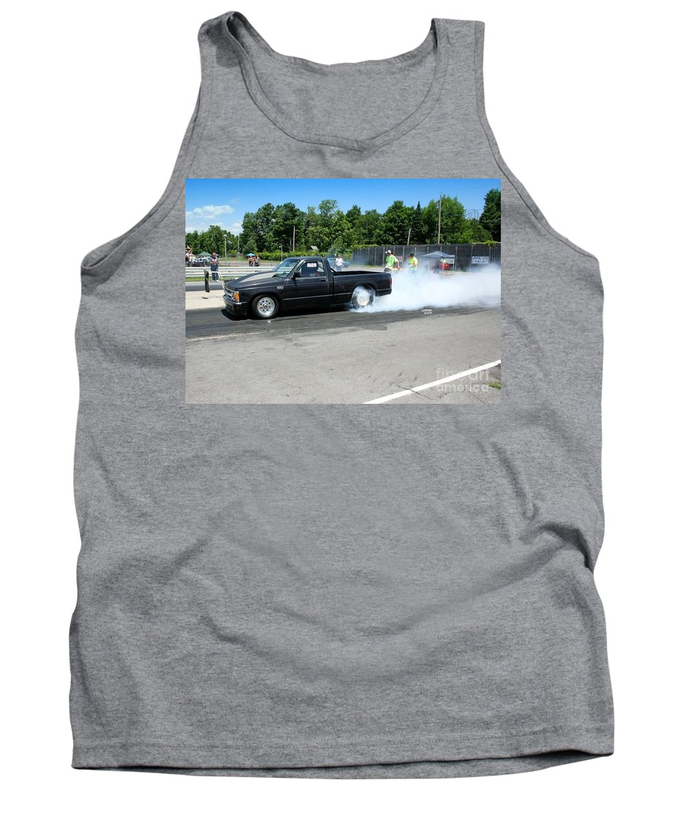 07-06-14 Tank Top featuring the photograph 1984 07-06-14 Esta Safety Park by Vicki Hopper