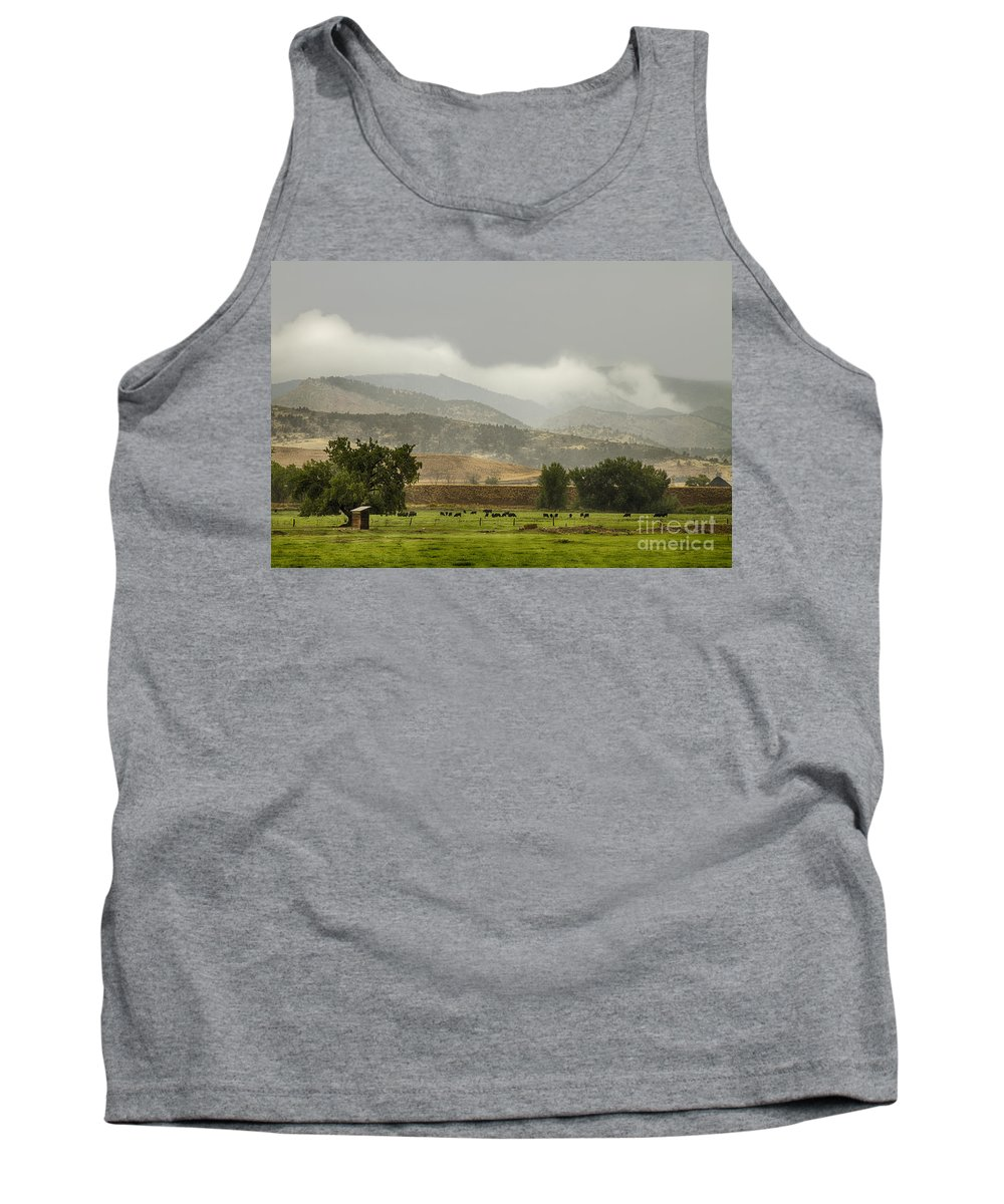 Rain Tank Top featuring the photograph 1st Day Of Rain Great Colorado Flood by James BO Insogna