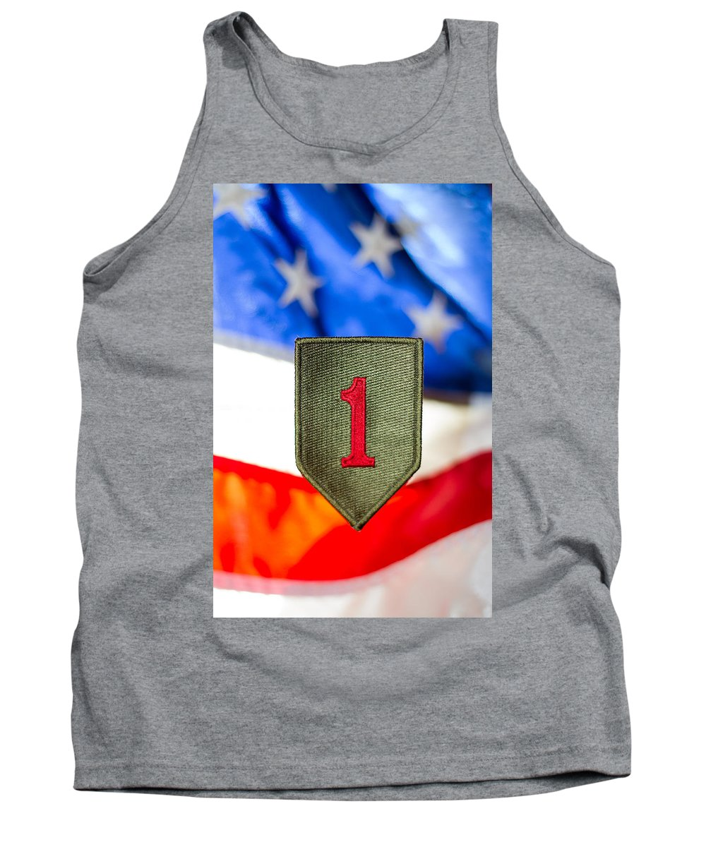 1st Infantry Division Tank Top featuring the photograph 1st Infantry Division by Craig Forhan