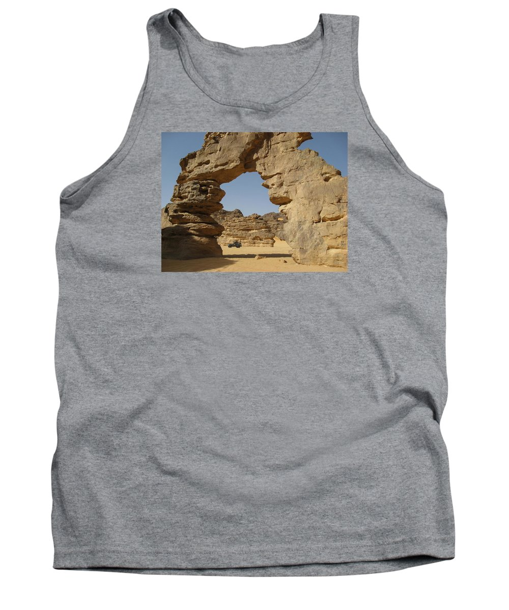 Algeria Tank Top featuring the photograph Algeria Desert by FL collection