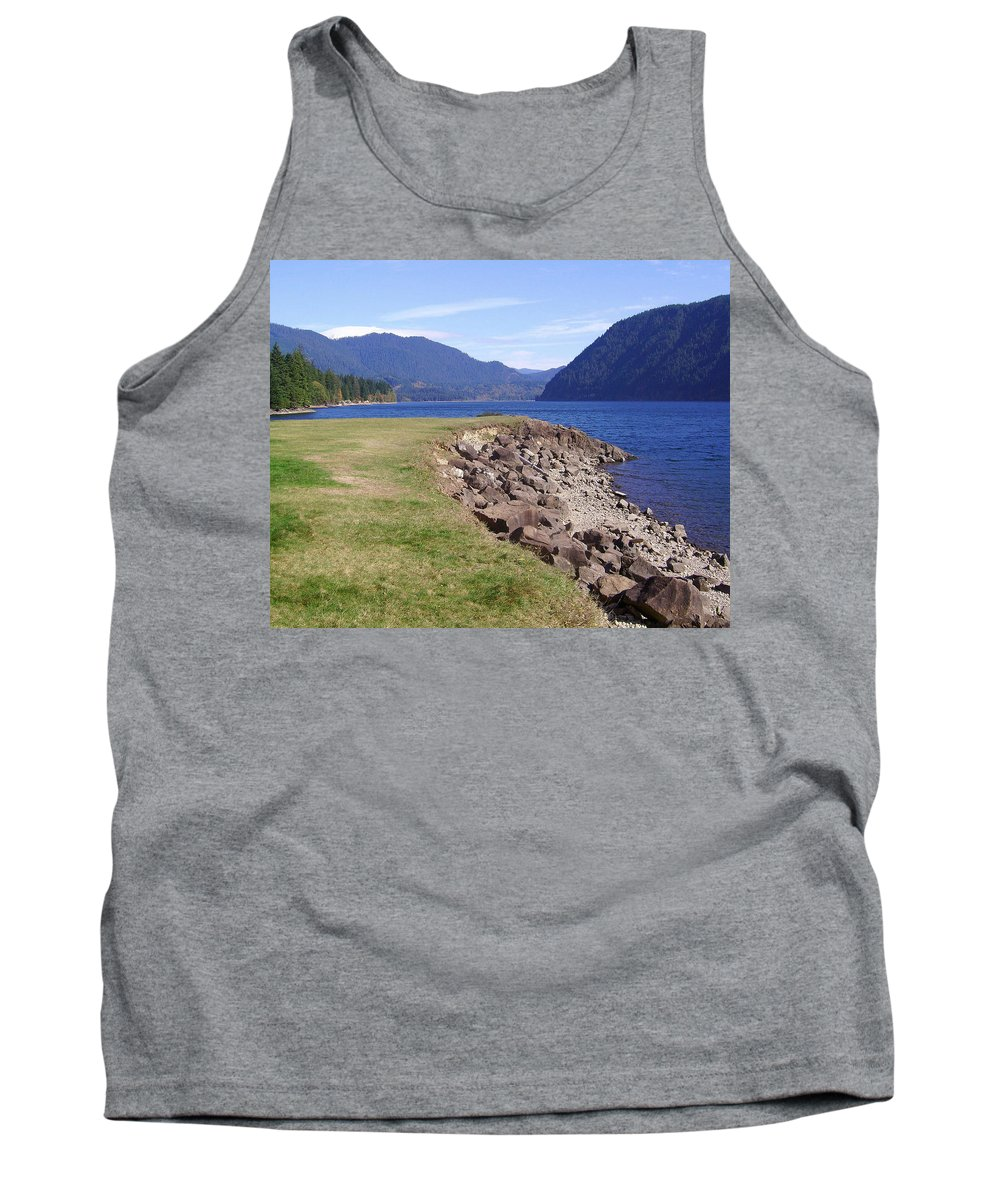 Bloom Tank Top featuring the photograph Lakes 3 by J D Owen