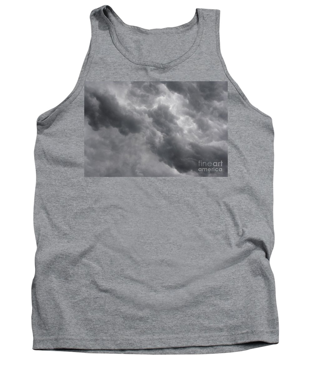 Cloud Tank Top featuring the photograph Masses Of Dark Clouds by Michal Boubin