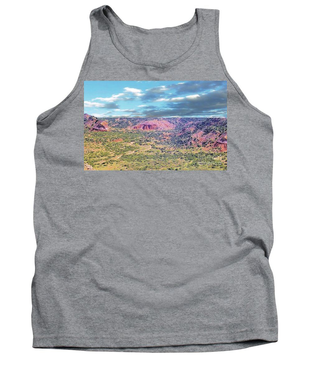 Palo Duro Canyon Tank Top featuring the photograph Palo Duro Canyon by Janette Boyd