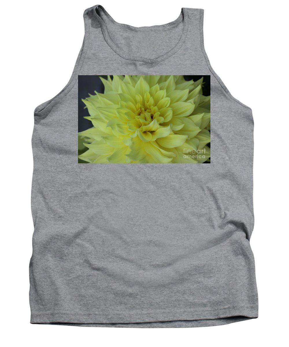 Dahlia Tank Top featuring the photograph Purity by Christiane Schulze Art And Photography