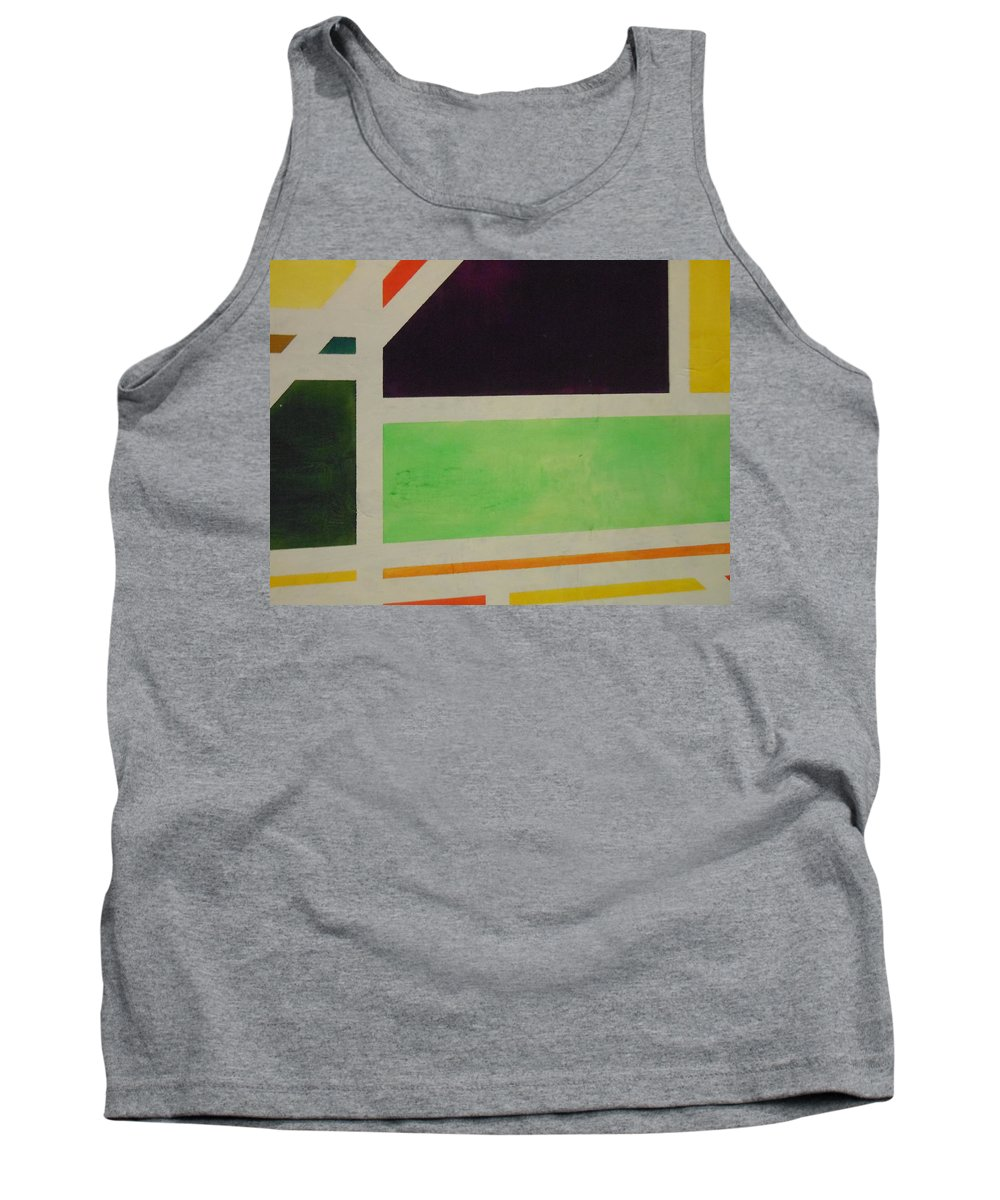 Abstract Tank Top featuring the painting Roads by Lord Frederick Lyle Morris