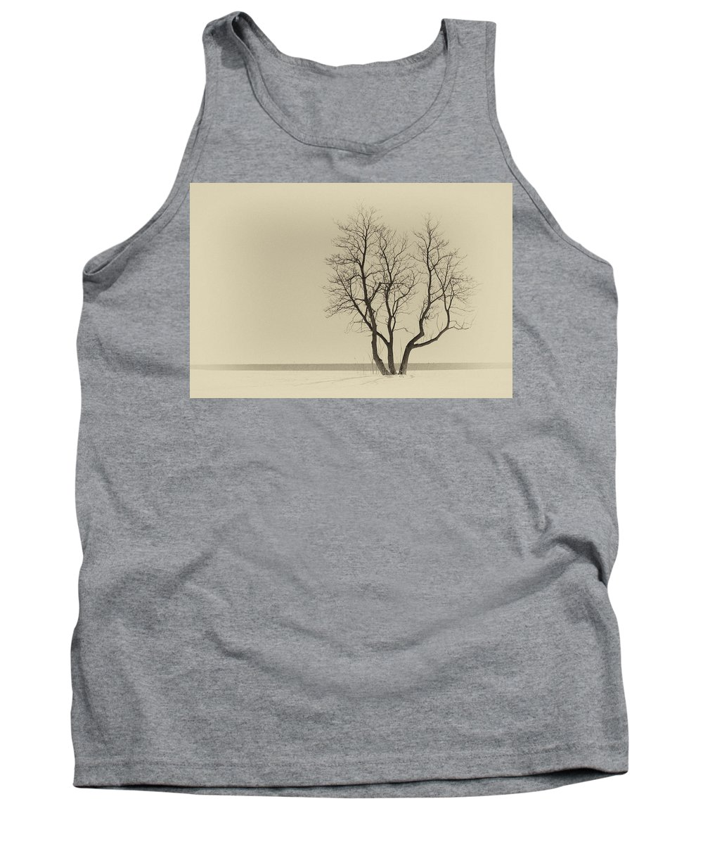 Stands Alone Tank Top featuring the photograph Stands Alone by Karol Livote