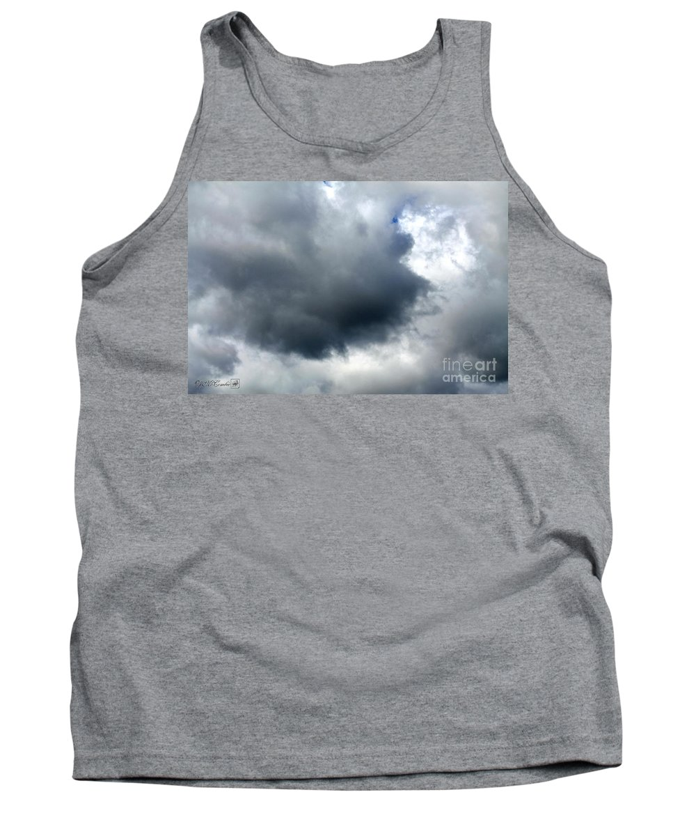 Storm Clouds Tank Top featuring the photograph Storm Clouds by J McCombie