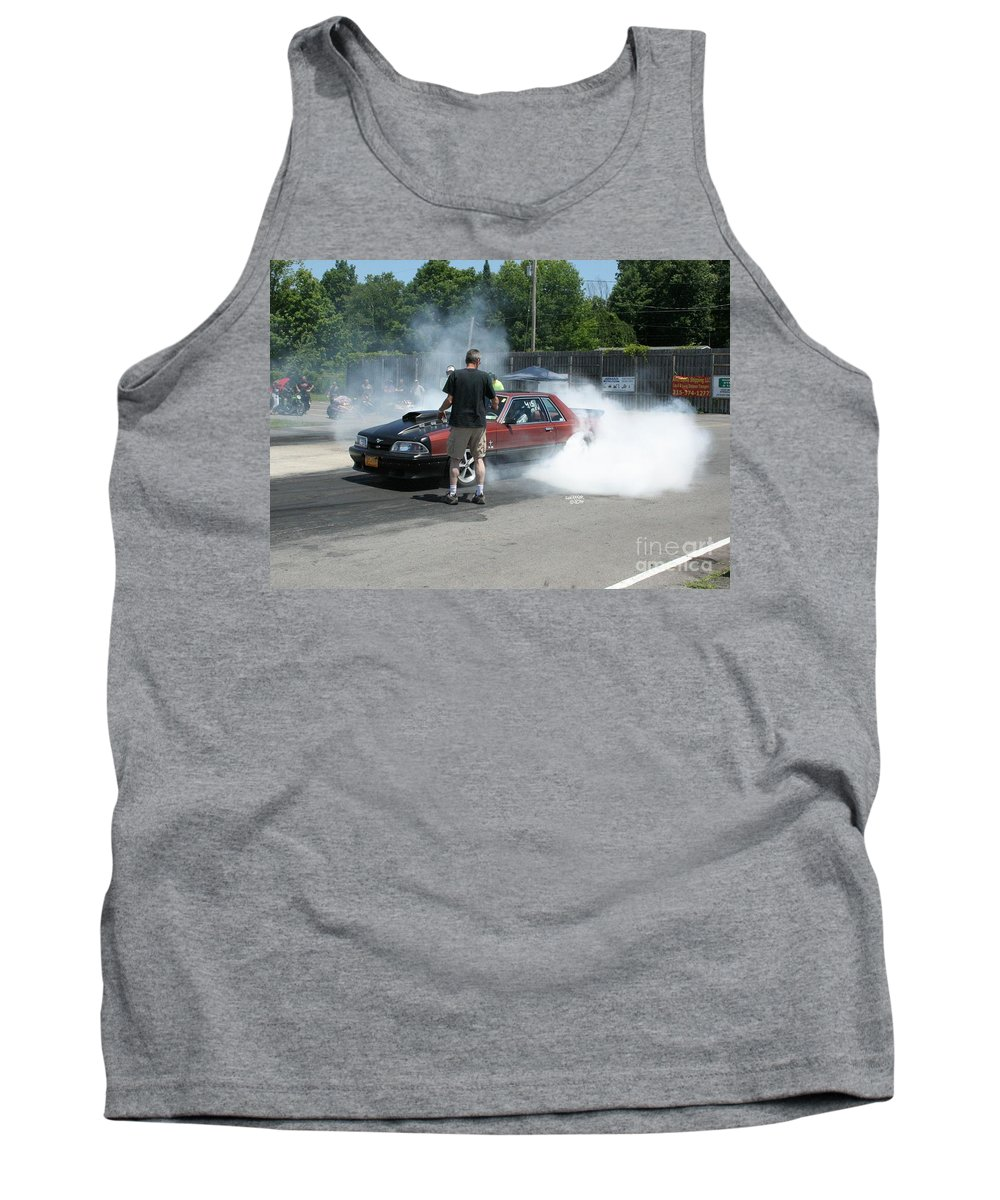 07-06-14 Tank Top featuring the photograph 2001 07-06-14 Esta Safety Park by Vicki Hopper