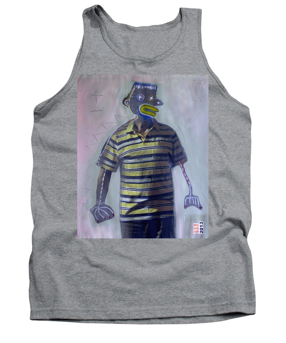 Painted Photographs Tank Top featuring the painting 2265 by D A Metrov