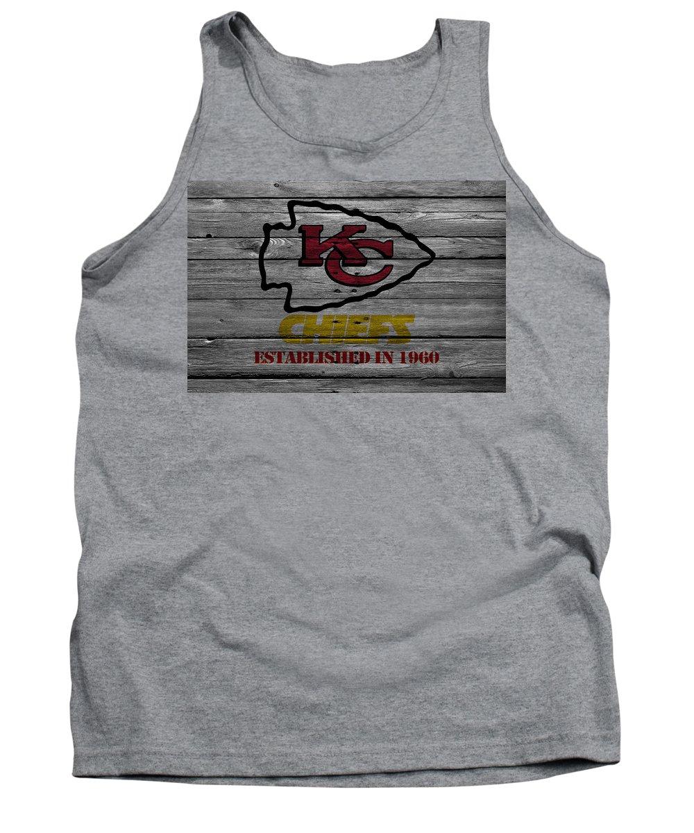 Chiefs Tank Top featuring the photograph Kansas City Chiefs by Joe Hamilton