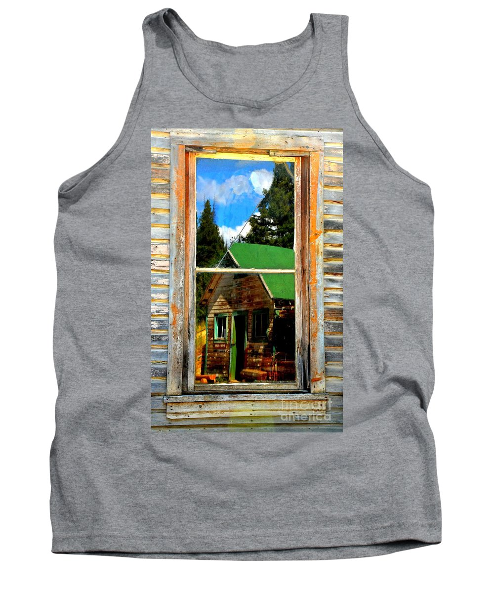 Abstract Tank Top featuring the photograph Blurring The Lines by Lauren Leigh Hunter Fine Art Photography