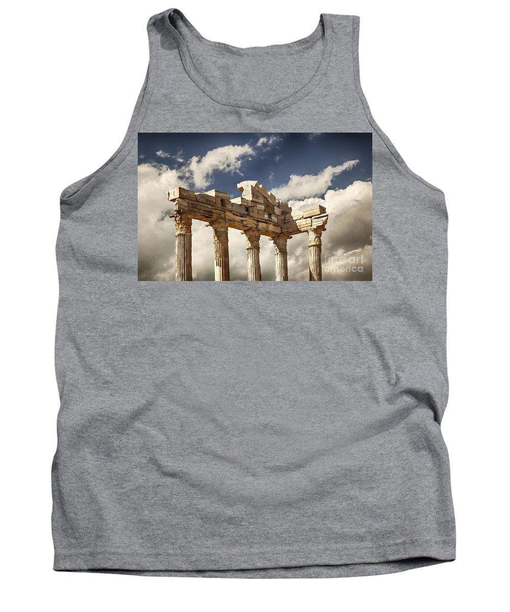 Old Tank Top featuring the photograph Temple Of Apollo by Sophie McAulay