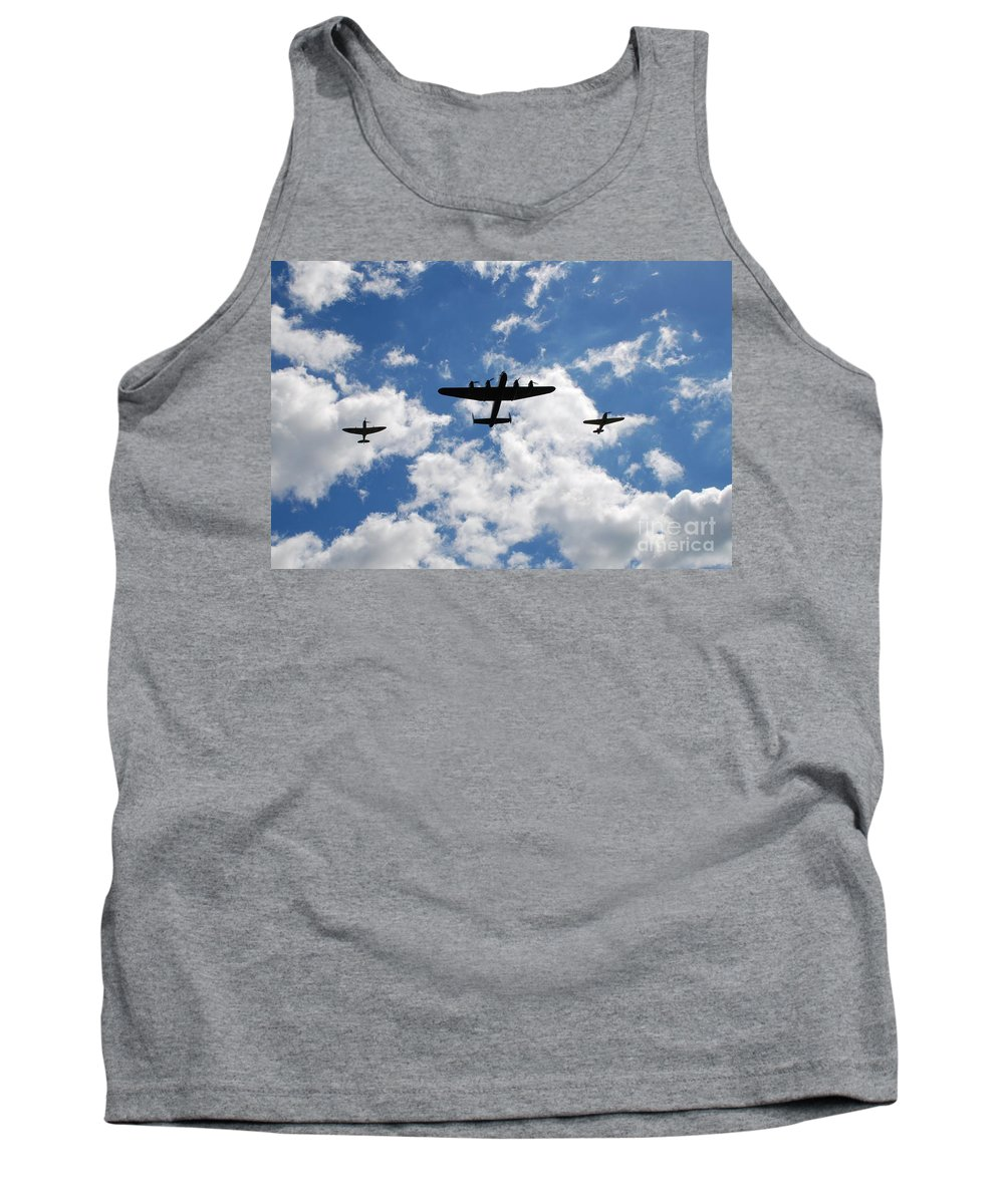 Avro Tank Top featuring the photograph Battle Of Britain Memorial Flight by David Fowler