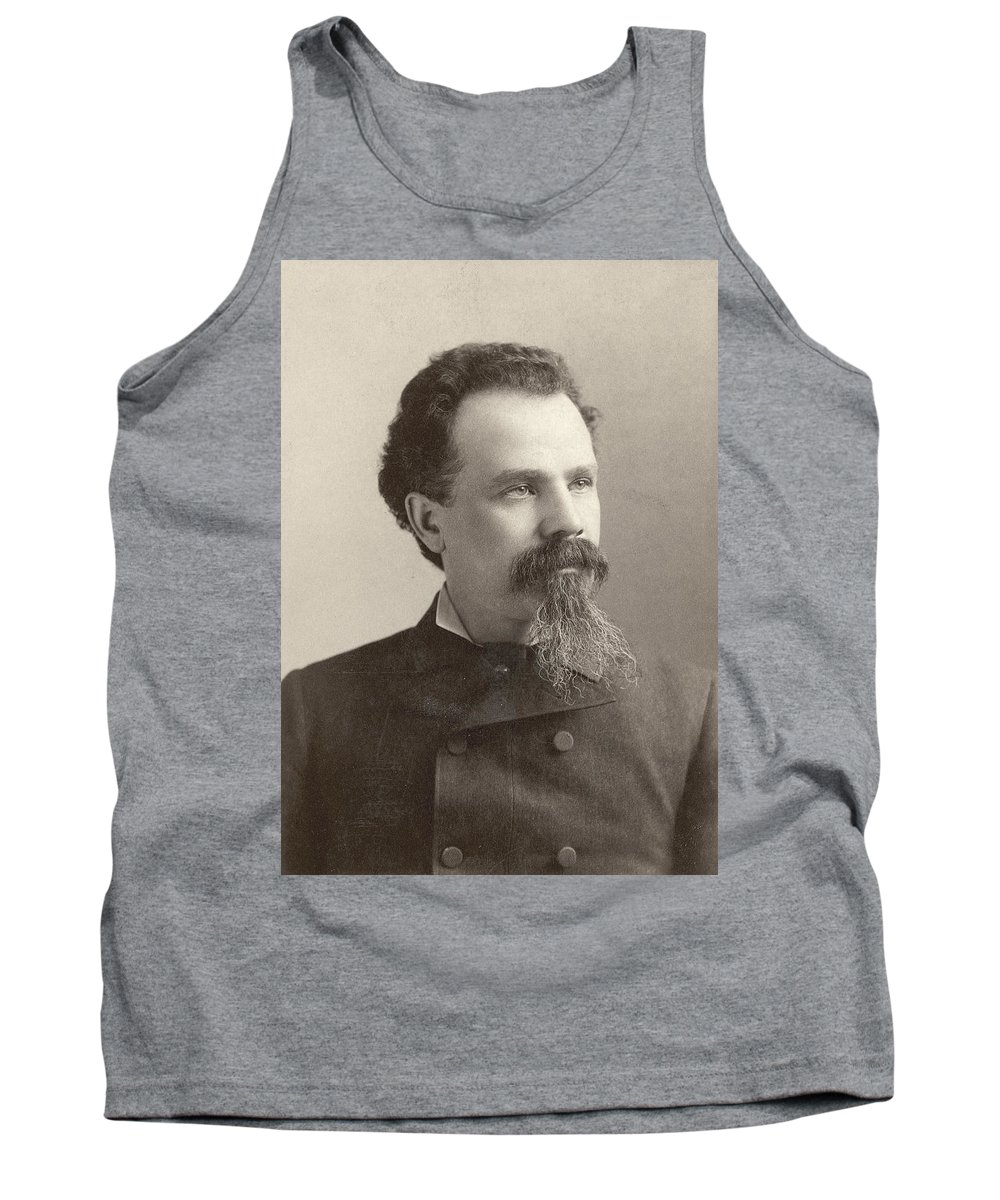 19th Century Tank Top featuring the photograph Man, 19th Century by Granger