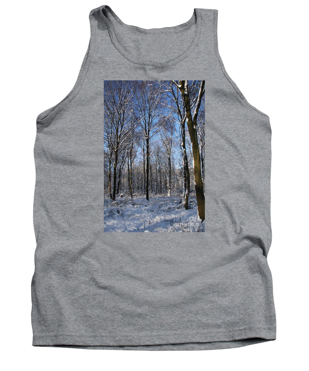 Winter Tank Top featuring the photograph Snowy Landscape by Christiane Schulze Art And Photography