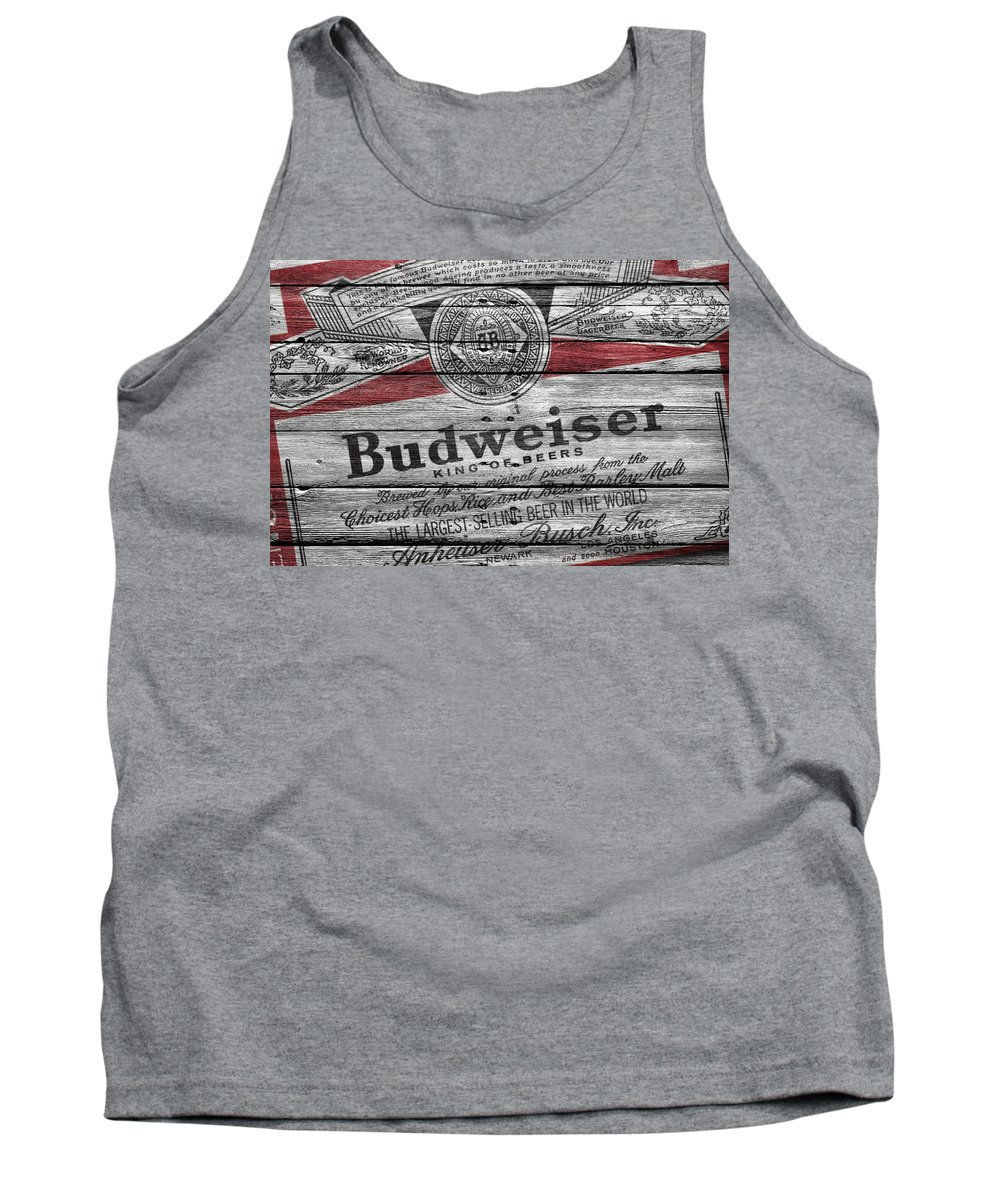 1bdd78213e45da Budweiser Tank Top featuring the photograph Budweiser by Joe Hamilton