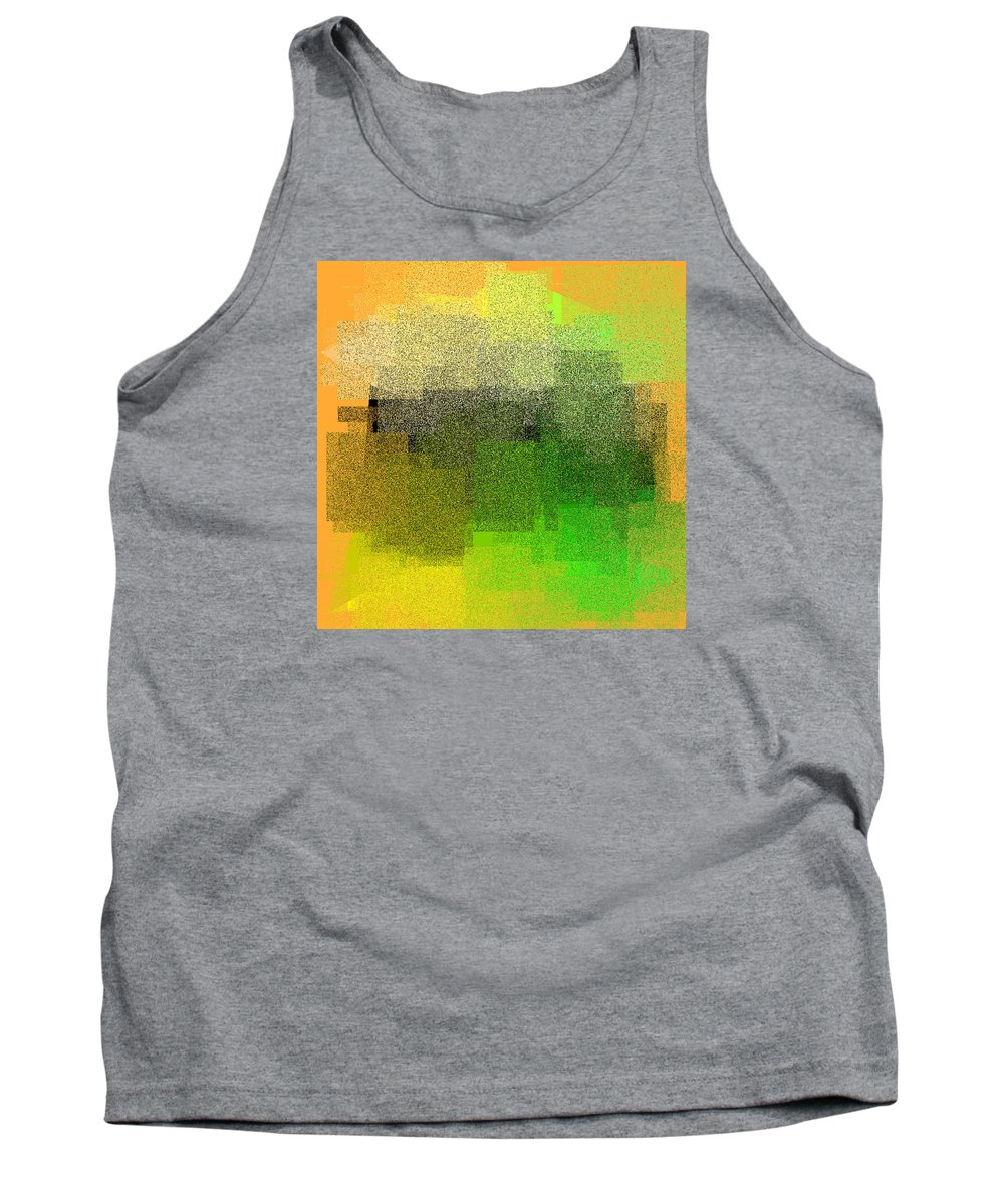 Abstract Tank Top featuring the digital art 5120.5.49 by Gareth Lewis