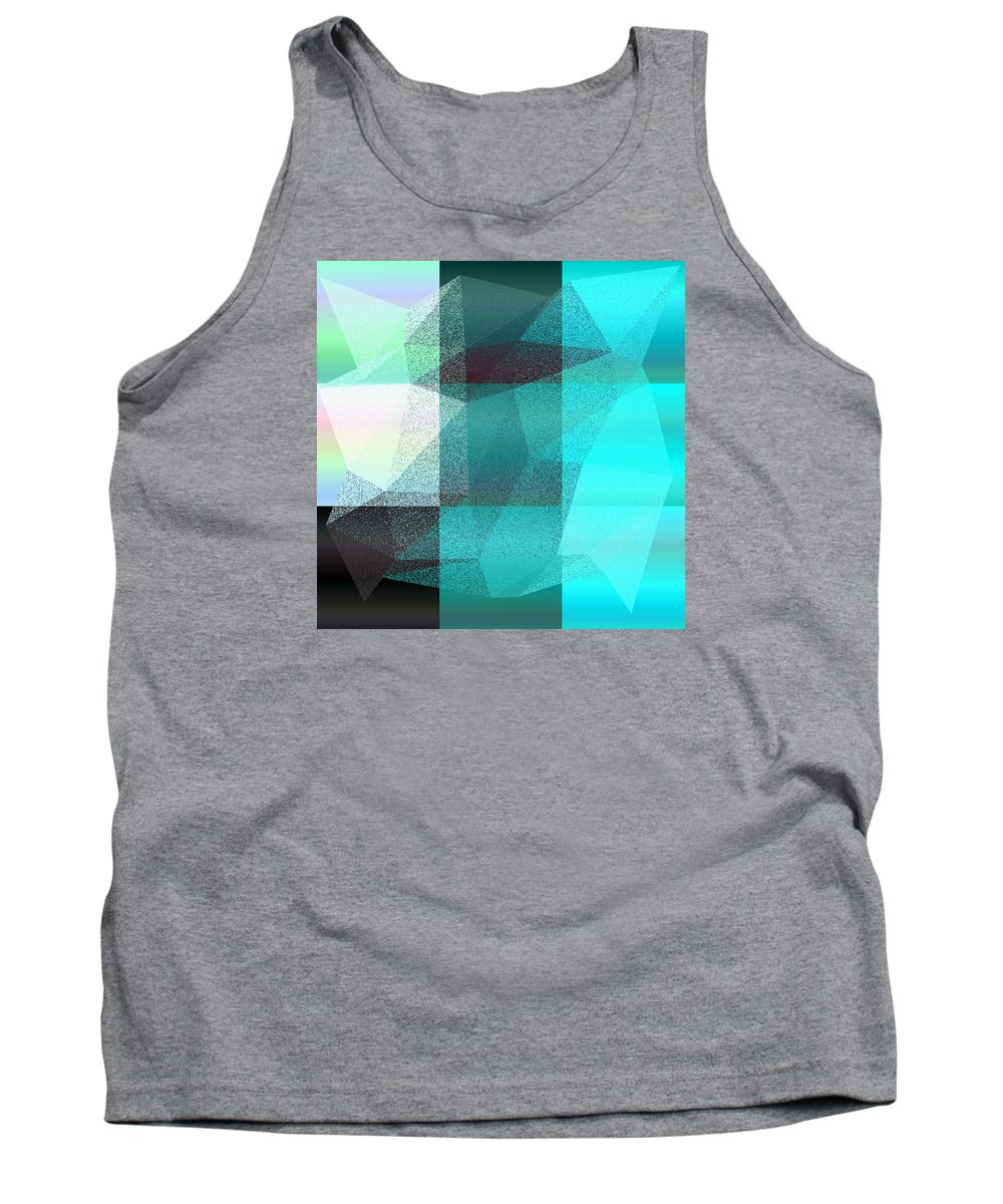 5120 Tank Top featuring the digital art 5120.6.27 by Gareth Lewis
