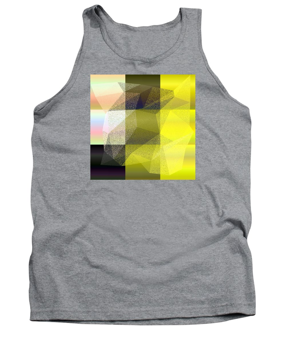 5120 Tank Top featuring the digital art 5120.6.7 by Gareth Lewis
