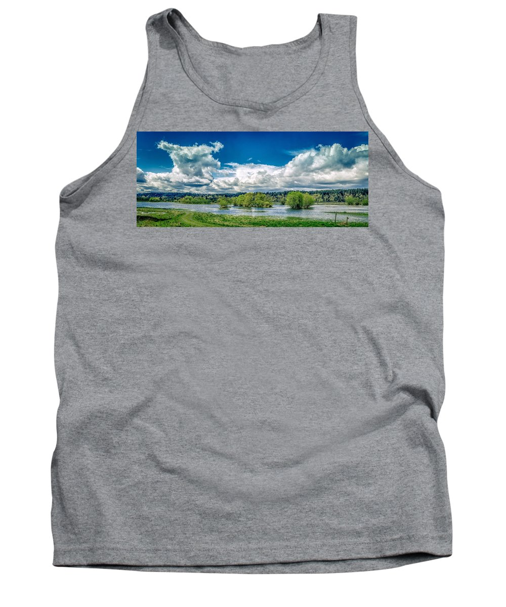 Nisqually Wildlife Refuge Tank Top featuring the photograph Nisqually Wildlife Refuge by Mike Penney