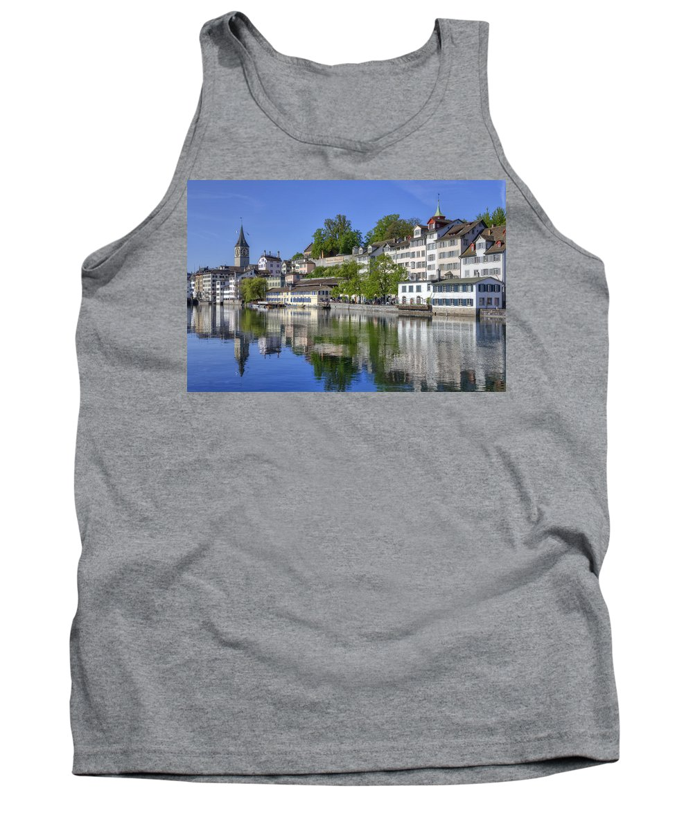 St. Peter Tank Top featuring the photograph Zurich by Joana Kruse