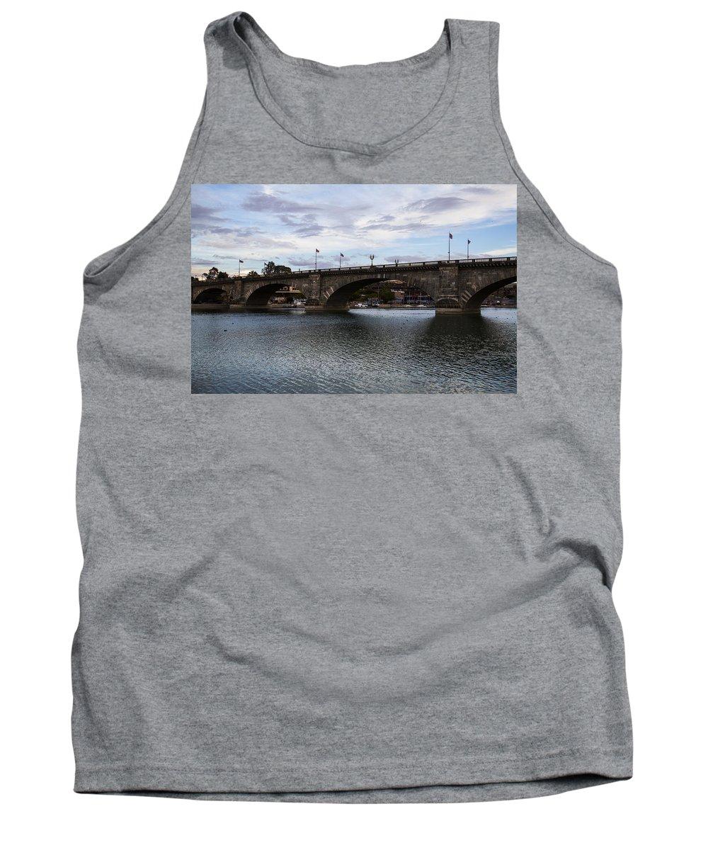 Lake Havasu City Tank Top featuring the photograph Bridge by Angus Hooper Iii
