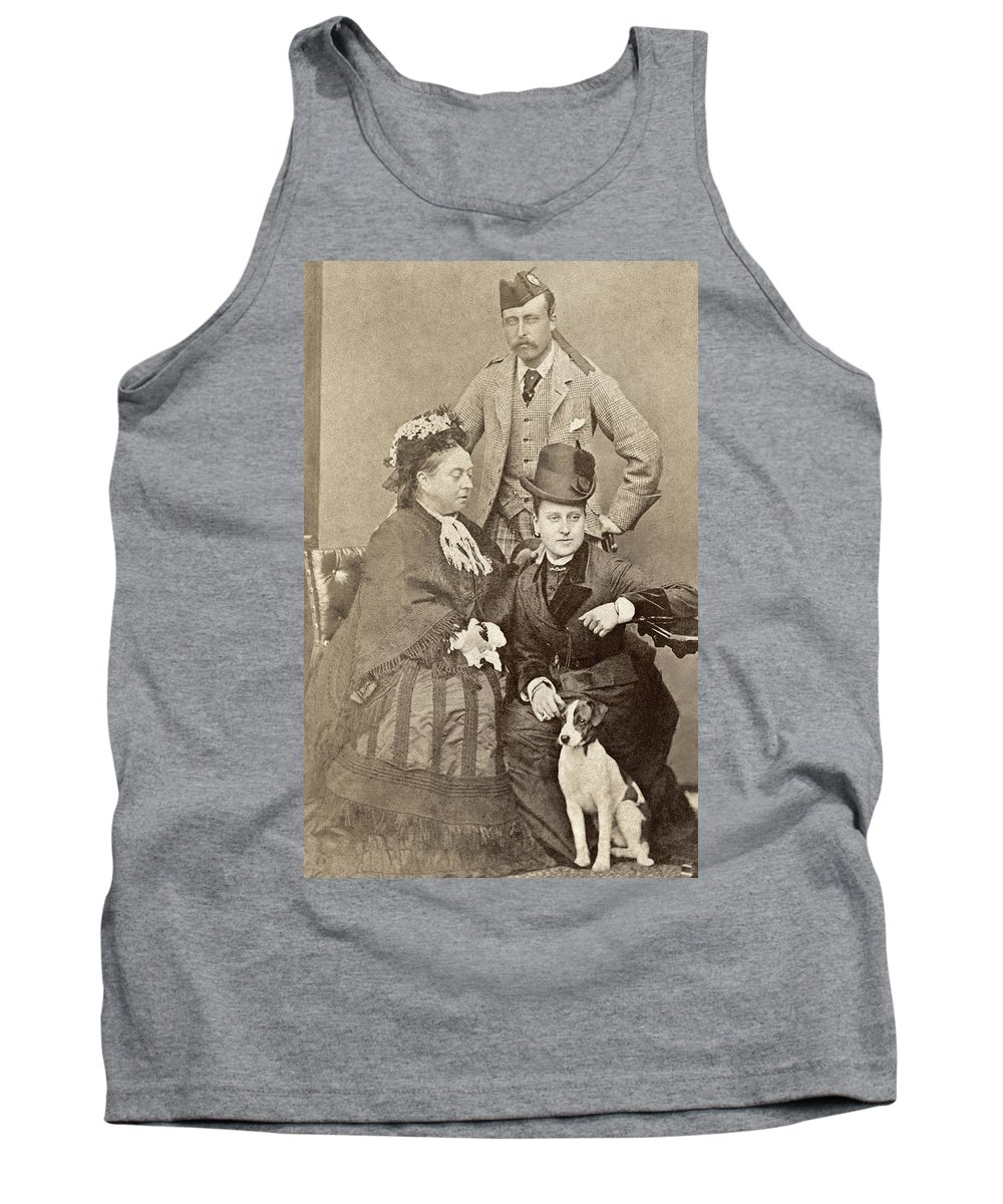 1880 Tank Top featuring the painting Queen Victoria (1819-1901) by Granger