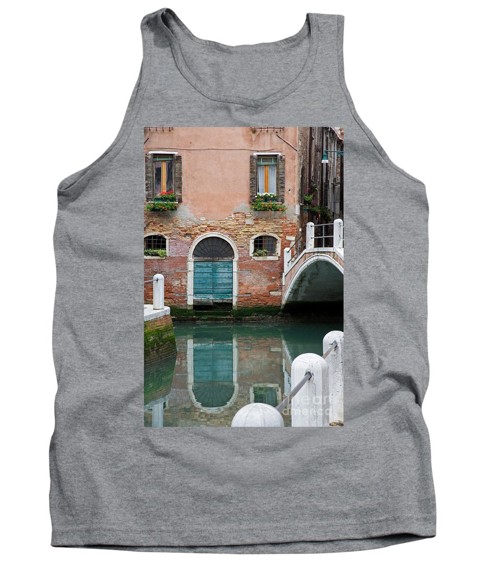 Canal Tank Top featuring the photograph Venice by David Davis
