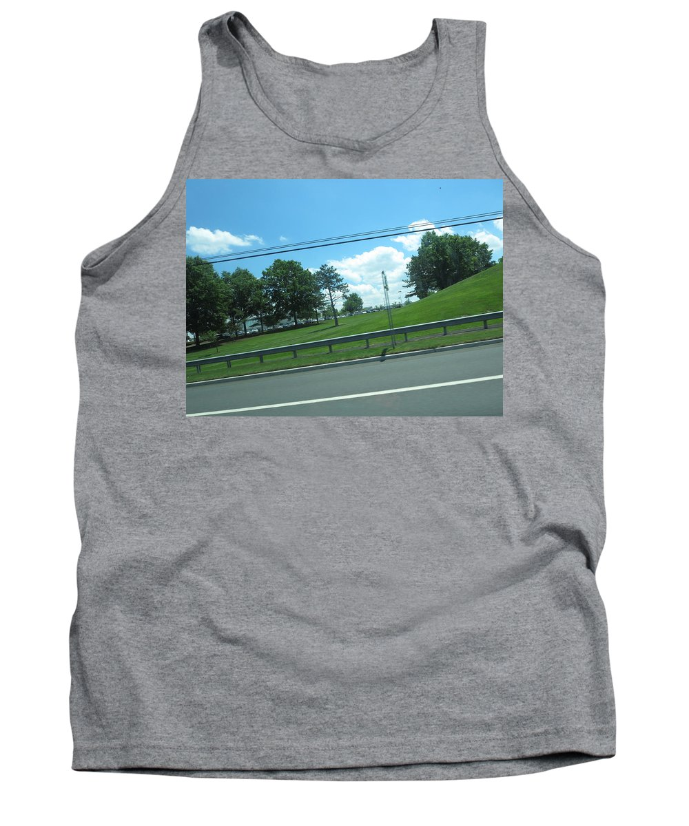 Skyway Tank Top featuring the photograph Perfect Angle Photos From Moving Car Windows Closed Navinjoshi Rights Managed Images Graphic Design by Navin Joshi