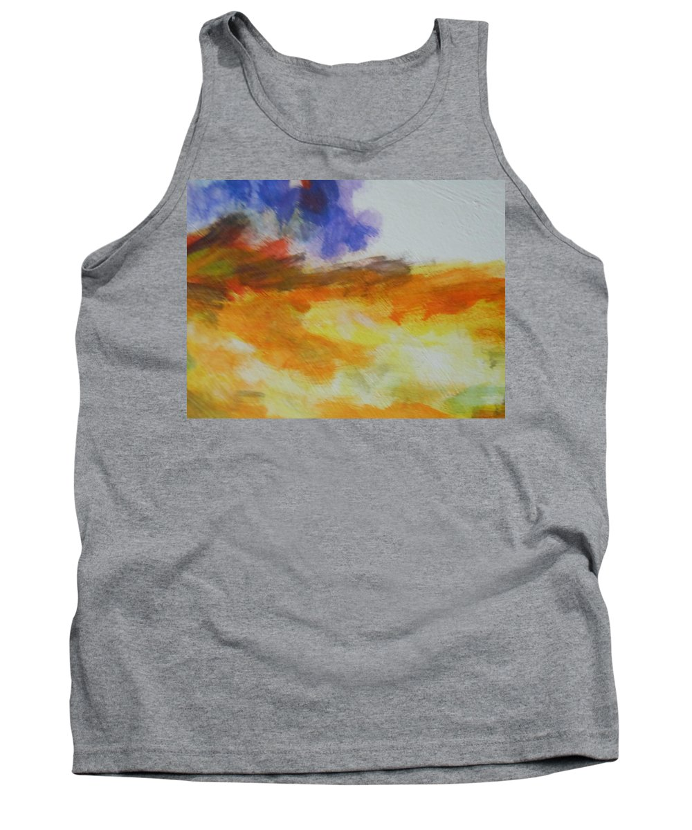 Water Tank Top featuring the painting Abstract by Lord Frederick Lyle Morris