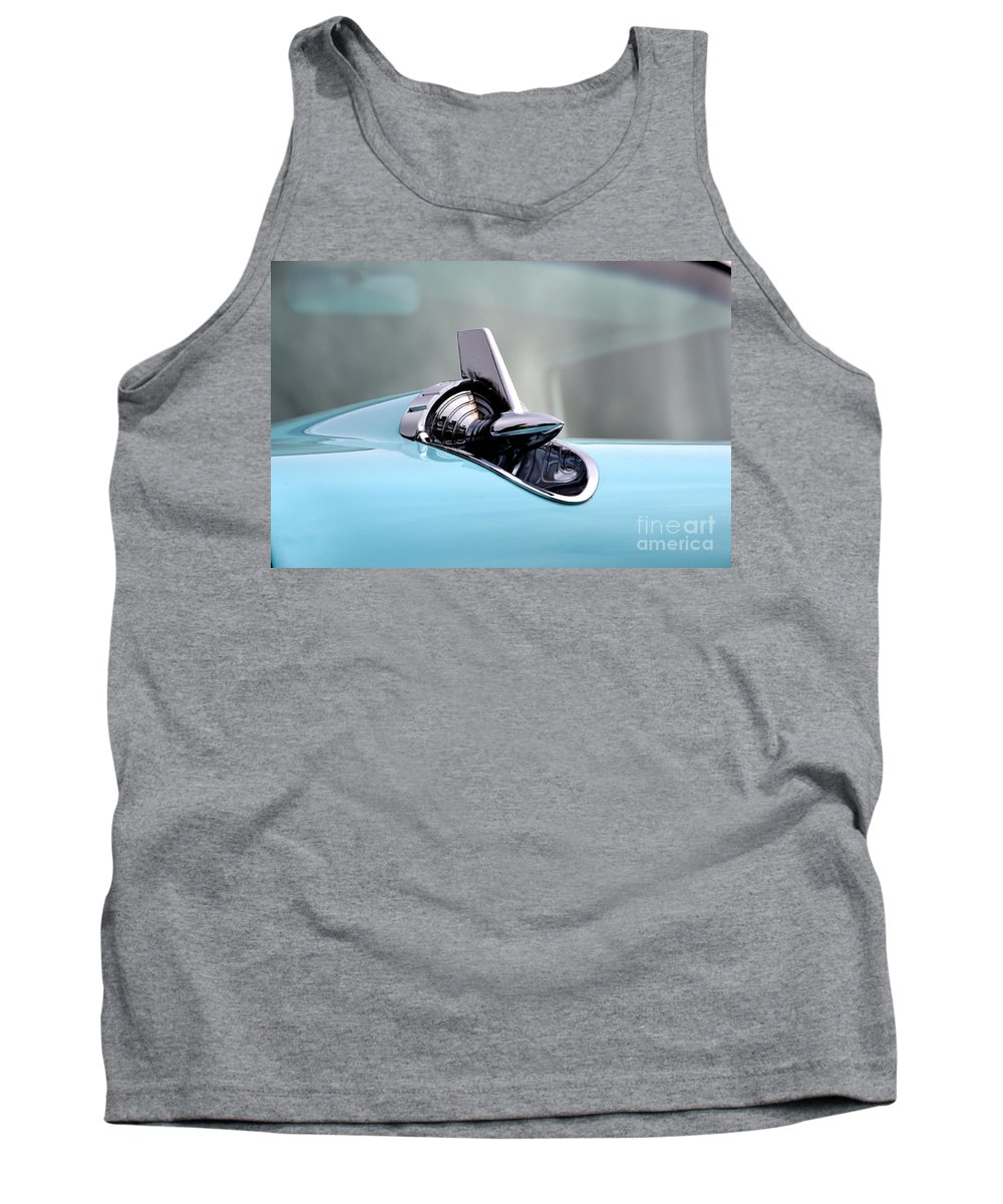 Chevy Tank Top featuring the photograph 57 Chevy Detail by Dean Ferreira