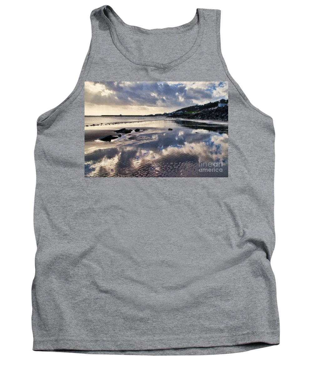 Lyme Regis Tank Top featuring the photograph A November Afternoon At Lyme Regis by Susie Peek
