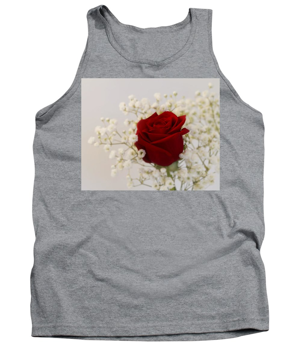 Rose Tank Top featuring the photograph A Rose Is A Rose by Kim Hojnacki