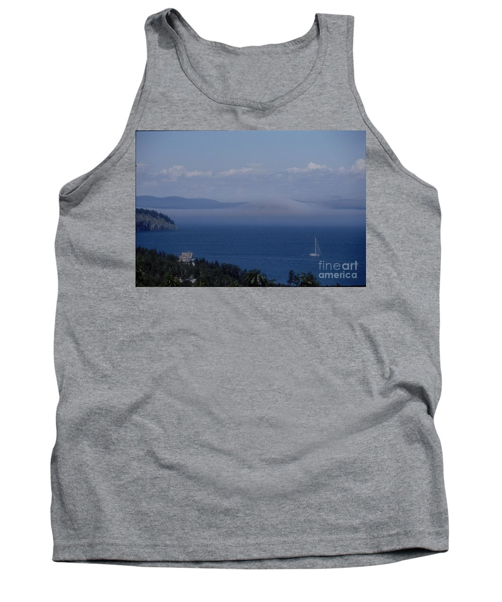 Acadia Tank Top featuring the photograph A View From Acadia by Darleen Stry