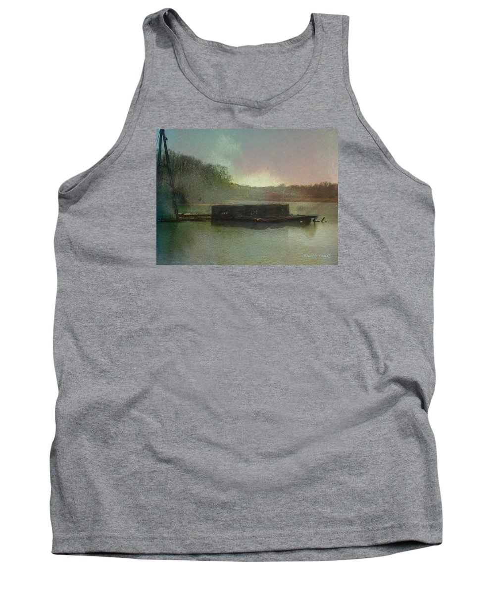 Wright Tank Top featuring the photograph Abandoned by Paulette B Wright