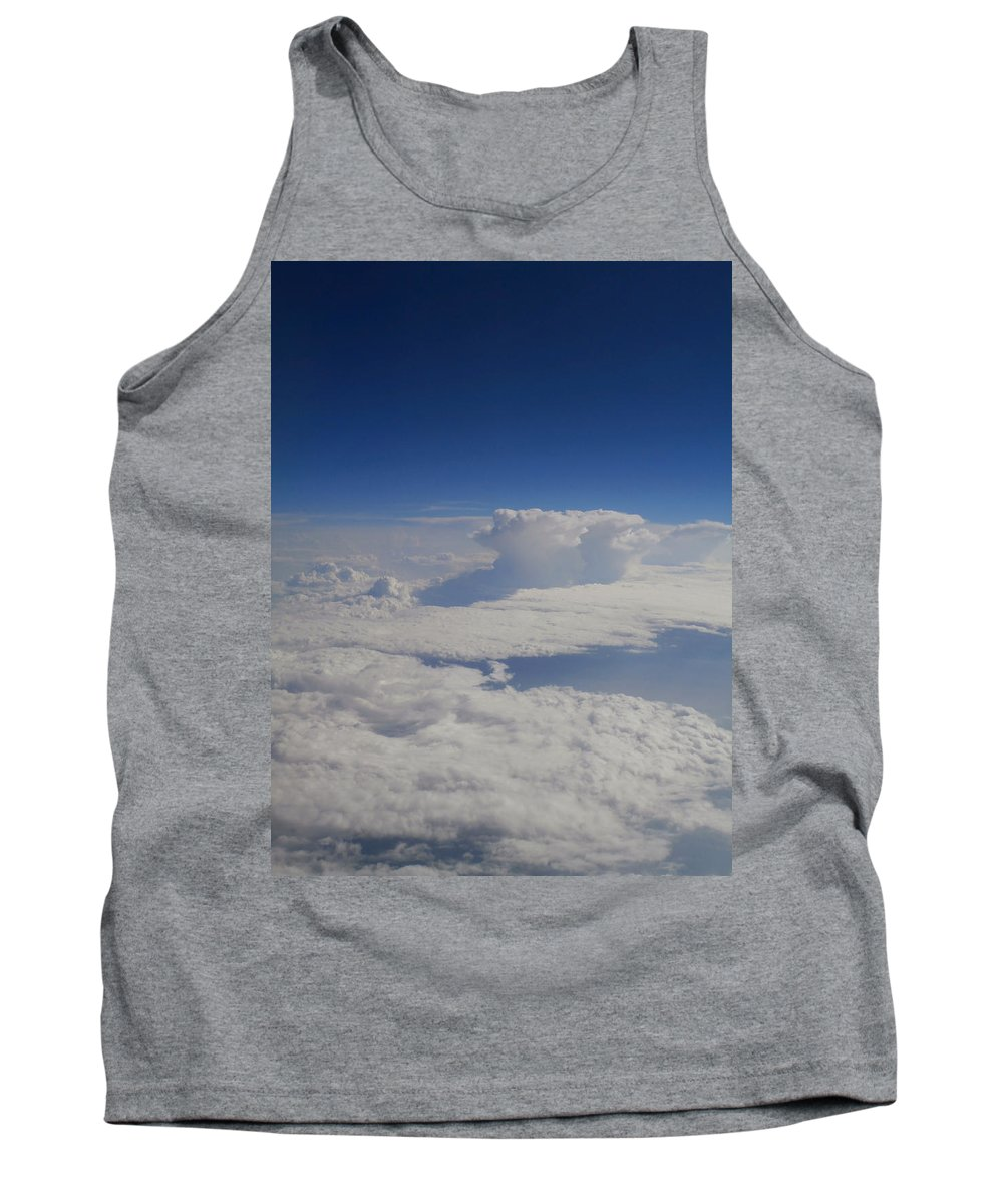 Clouds Tank Top featuring the photograph Above The Clouds by Dan McCafferty