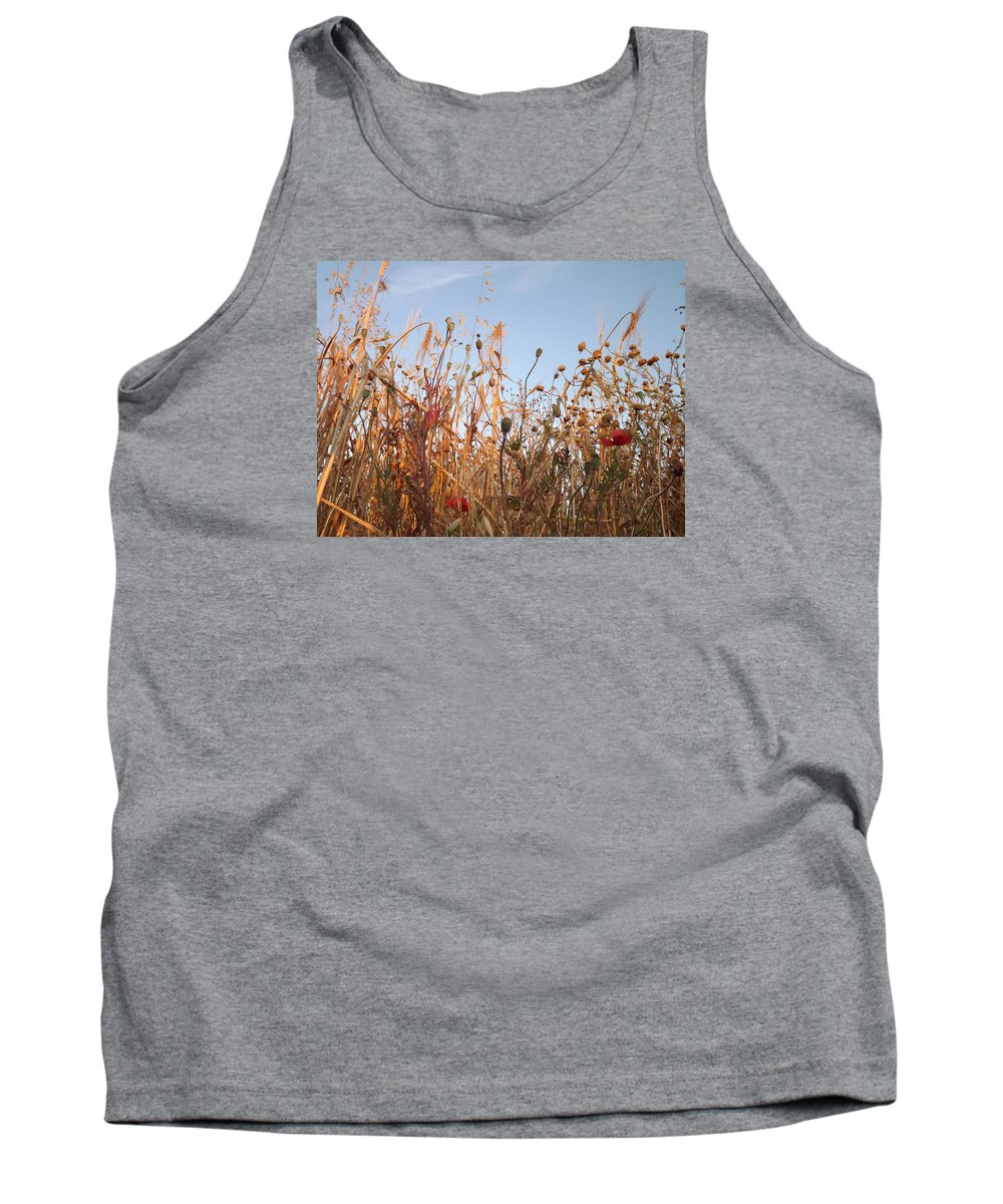 Landscapes Tank Top featuring the painting Abril by Nav Unger