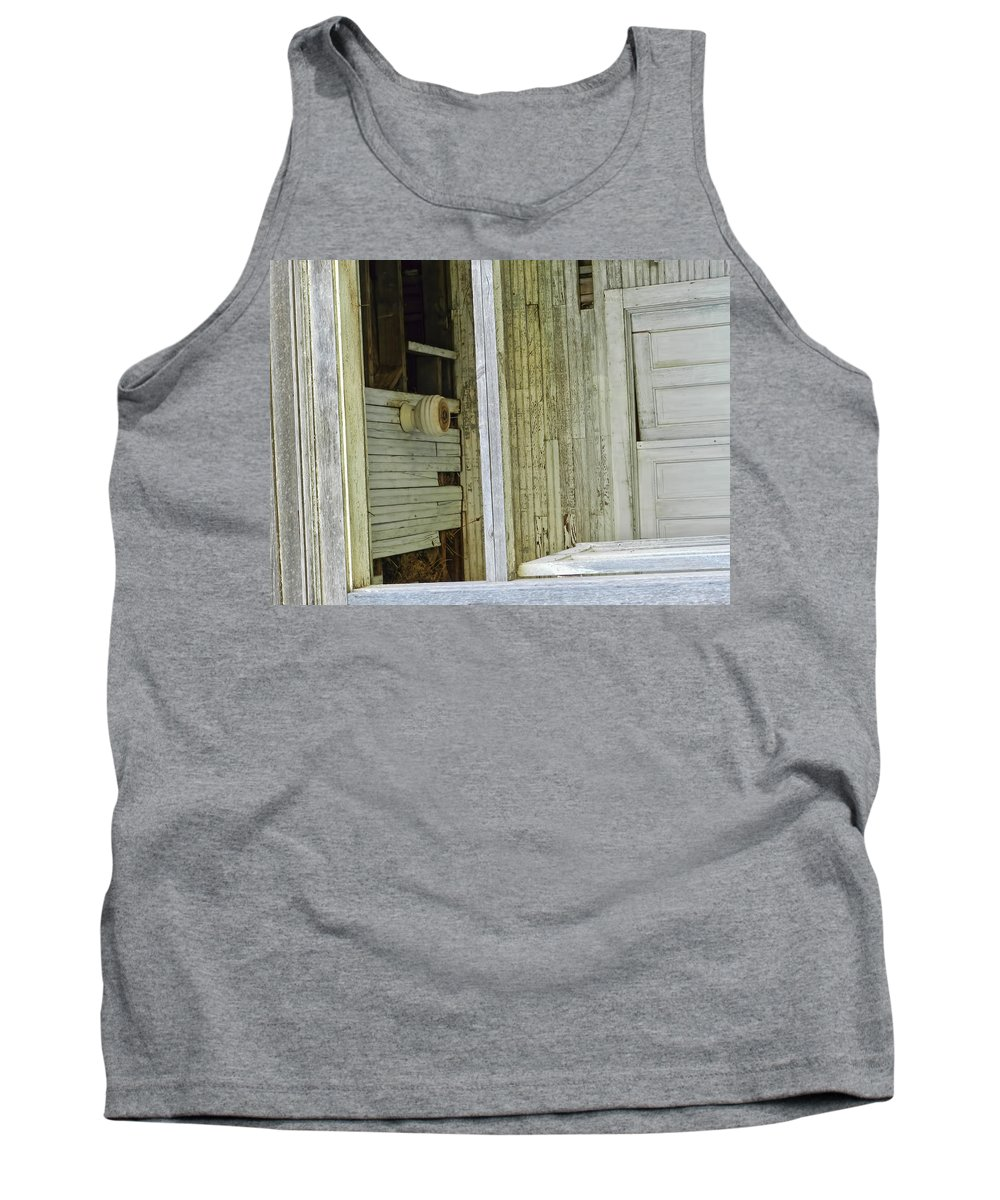 Doors Tank Top featuring the photograph Abstract Doors by Cathy Anderson