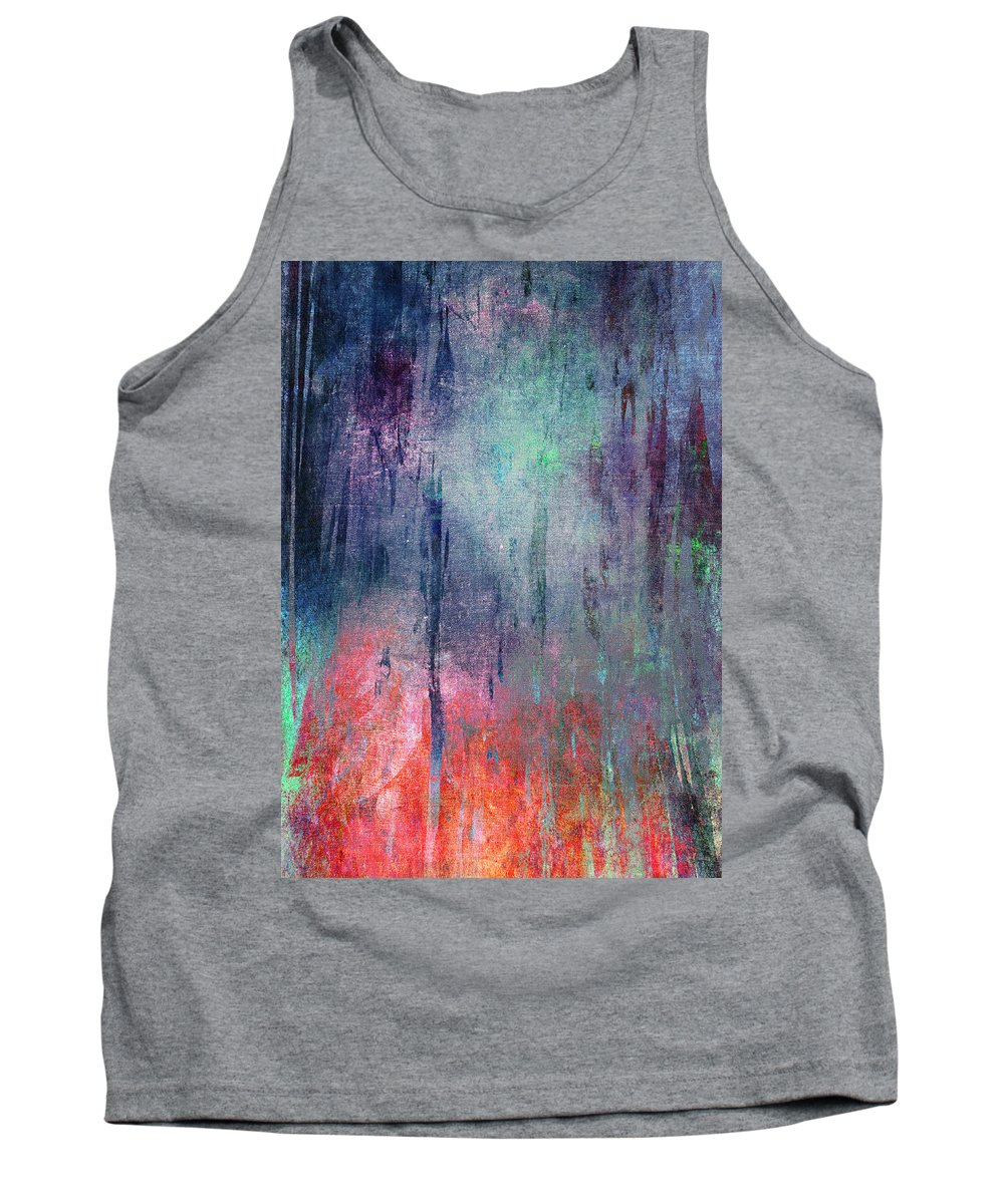 Abstract Tank Top featuring the digital art Abstract Print 25 by Filippo B