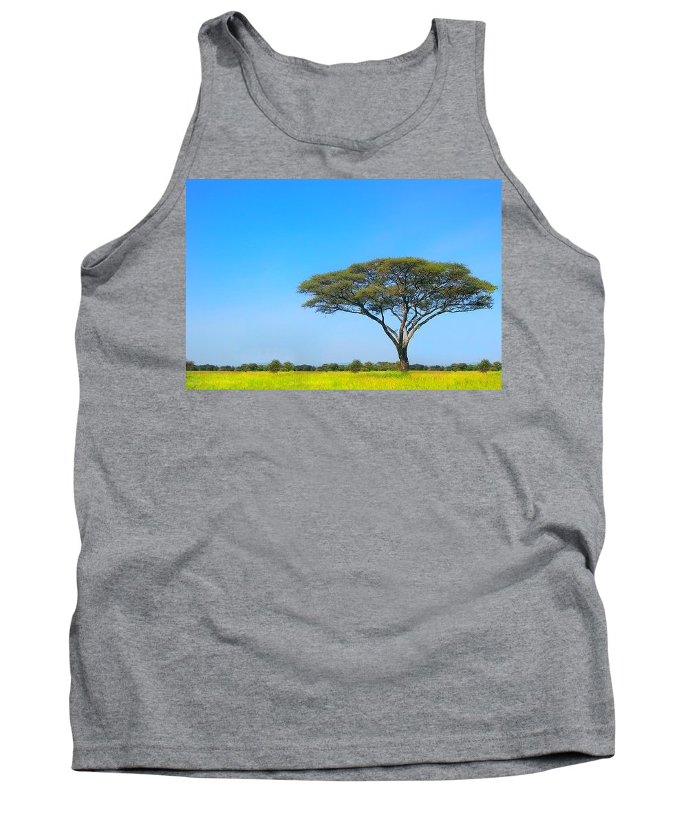 Africa Tank Top featuring the photograph Africa by Sebastian Musial