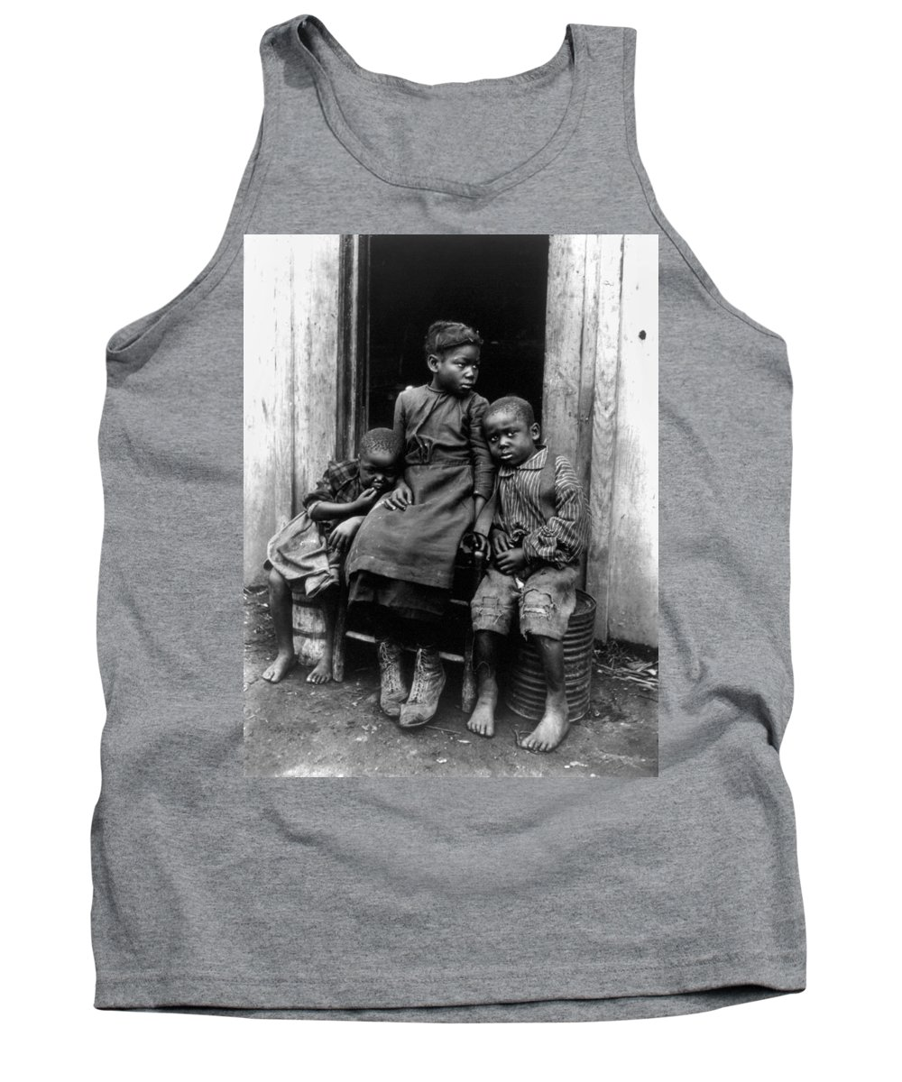 1901 Tank Top featuring the photograph African American Children by Granger