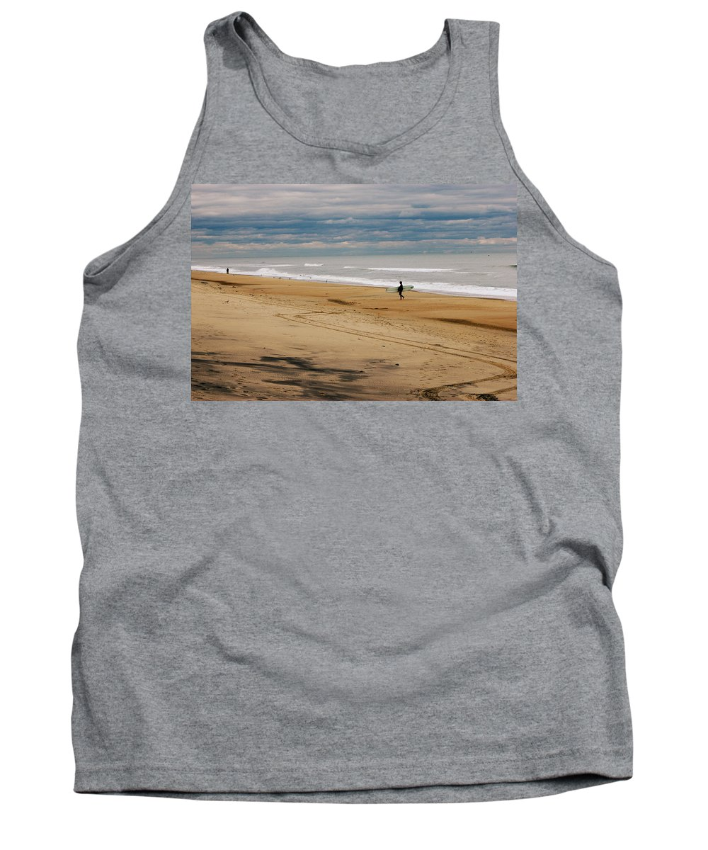 Virginia Beach Tank Top featuring the photograph After The Storm by Shannon Louder