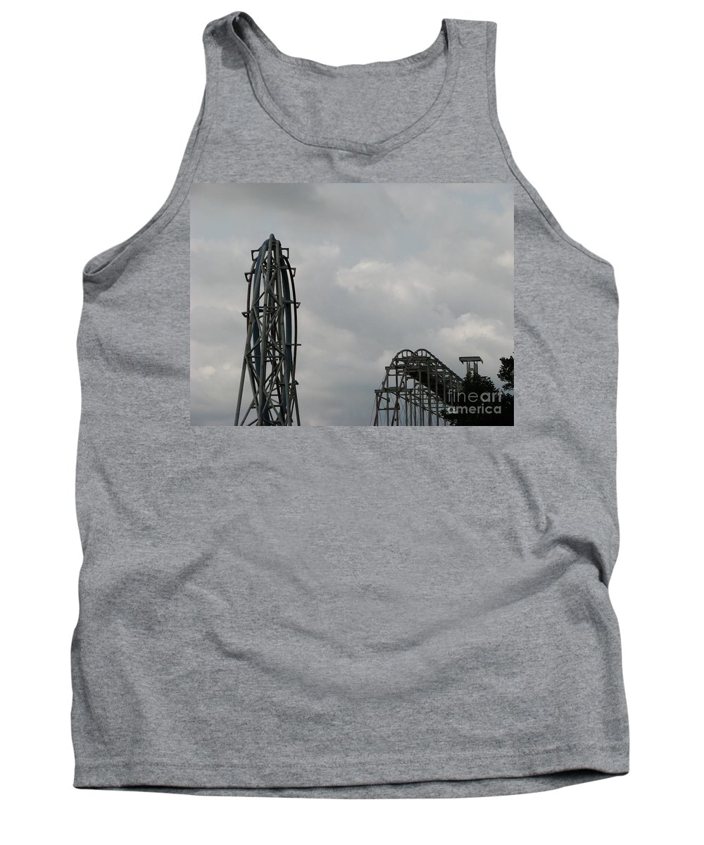 Afterburner Tank Top featuring the photograph Afterburner 2 by Michael Krek
